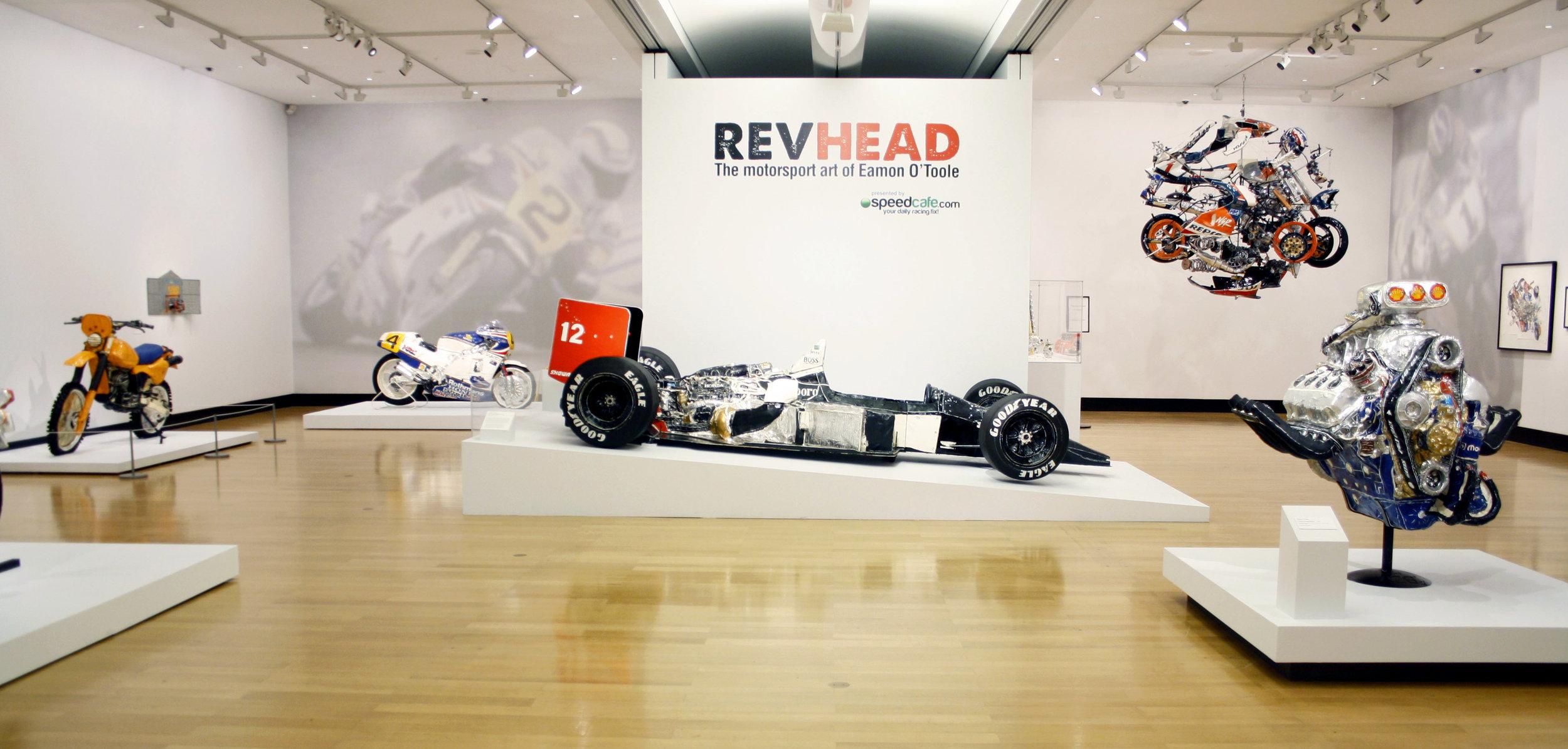 'Revhead: The motorsport art of Eamon O'Toole' Feb. - May 2012