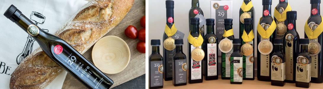 number 29 olive oil awards