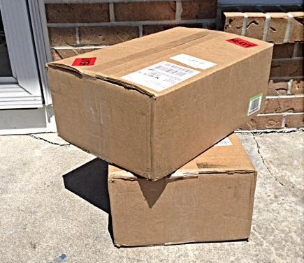 The first printing of  Nicoteane and Other Foolish Mistakes  arrives for the release celebration. 2015 (a.j.k. archive)