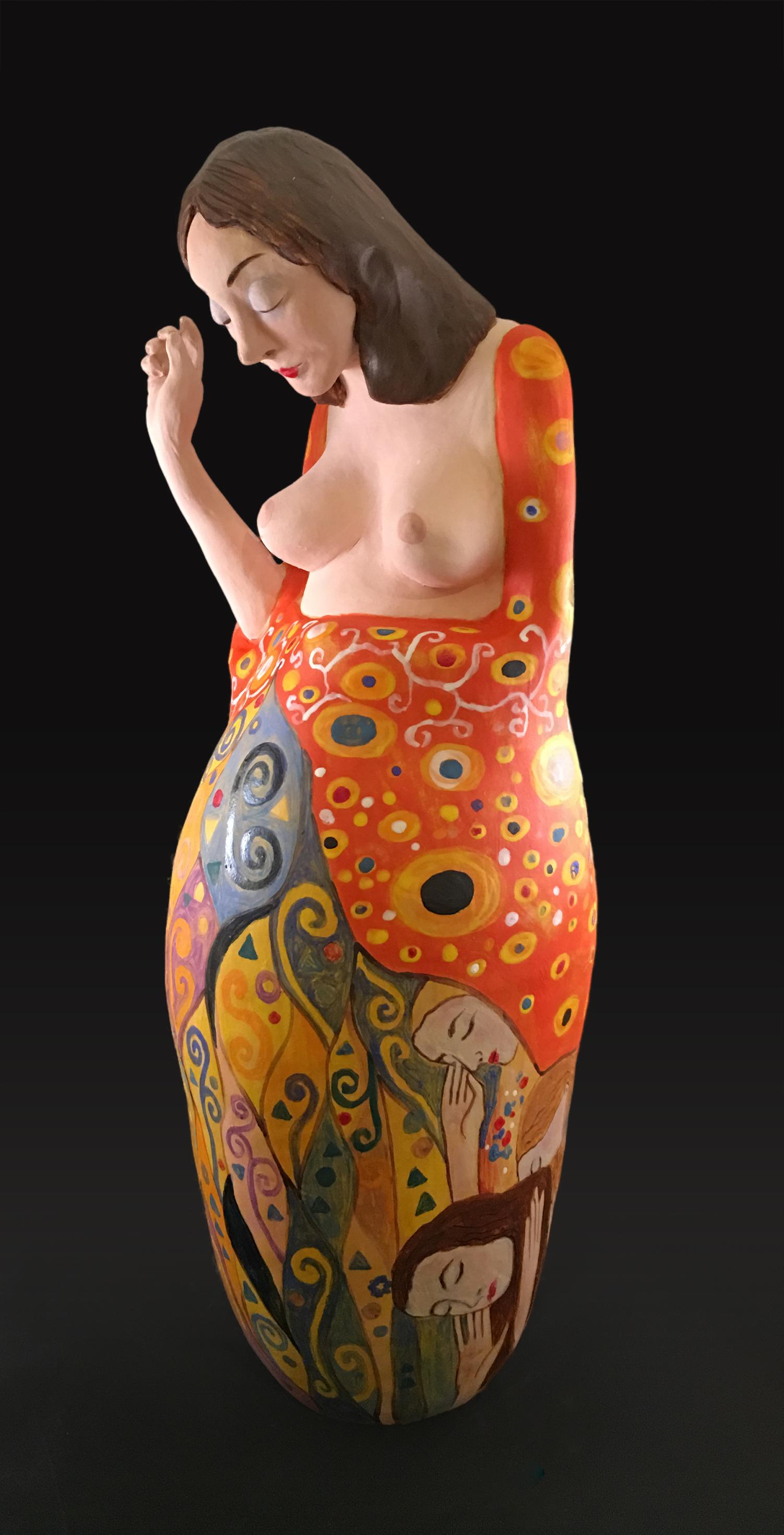 Sculpture 2 (based on Hope II (Klimt))