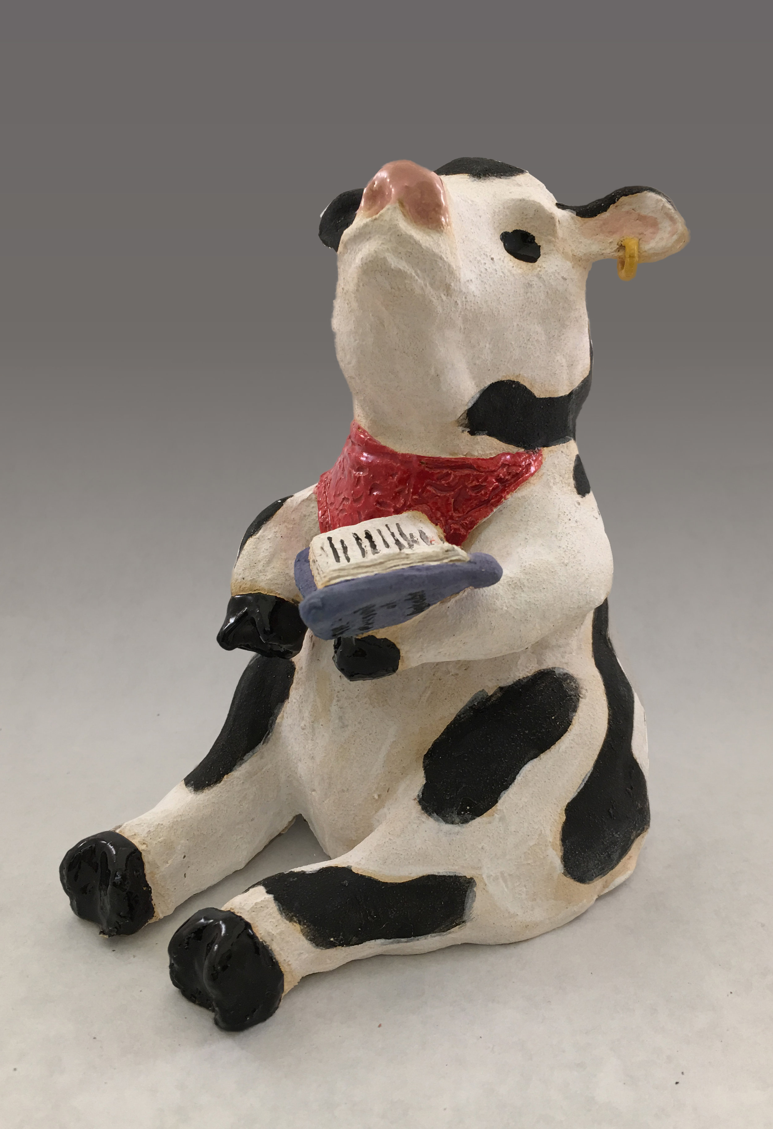 Luna - the Cow Thoughtfully Reading (Ava Murphy).jpg