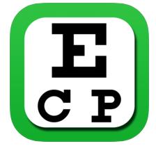 Eye Chart - A simple, straightforward app for checking visual acuity at 4ft.iOS