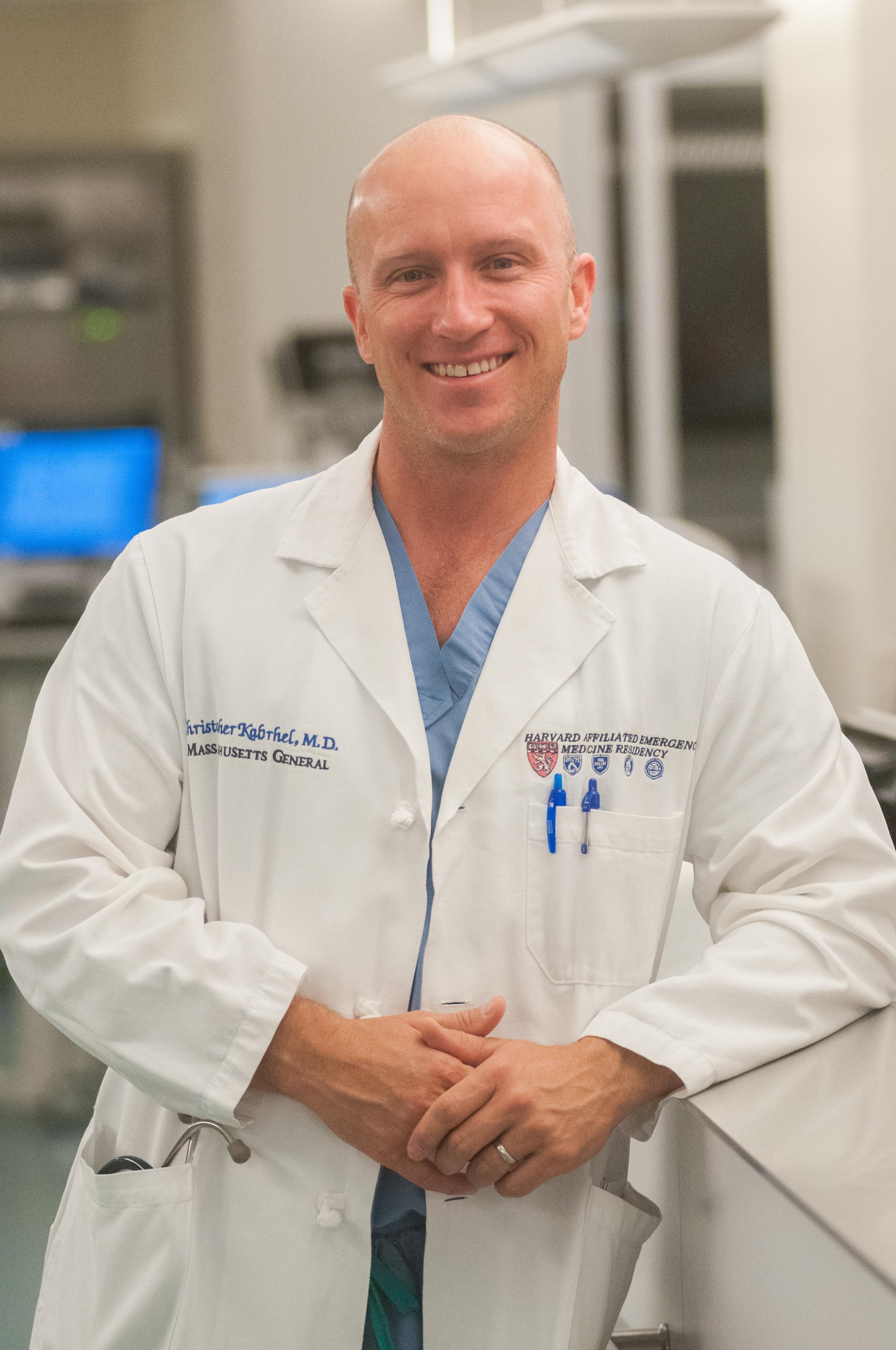 - Christopher Kabrhel MD, MPHAssociate Professor, Harvard Medical SchoolDirector, Center for Vascular EmergenciesDepartment of Emergency MedicineMassachusetts General Hospital