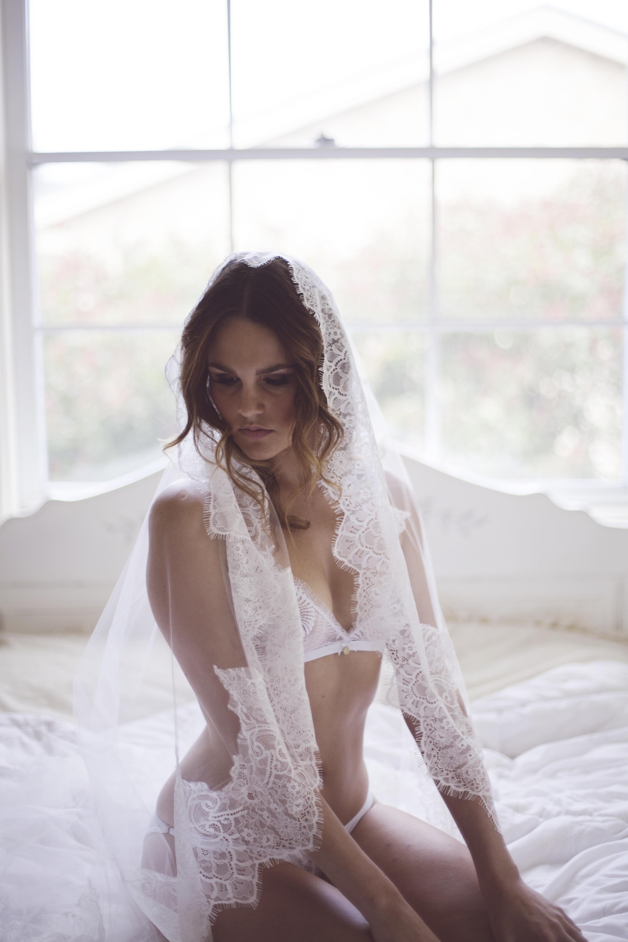 bridal editorial portrait shoot