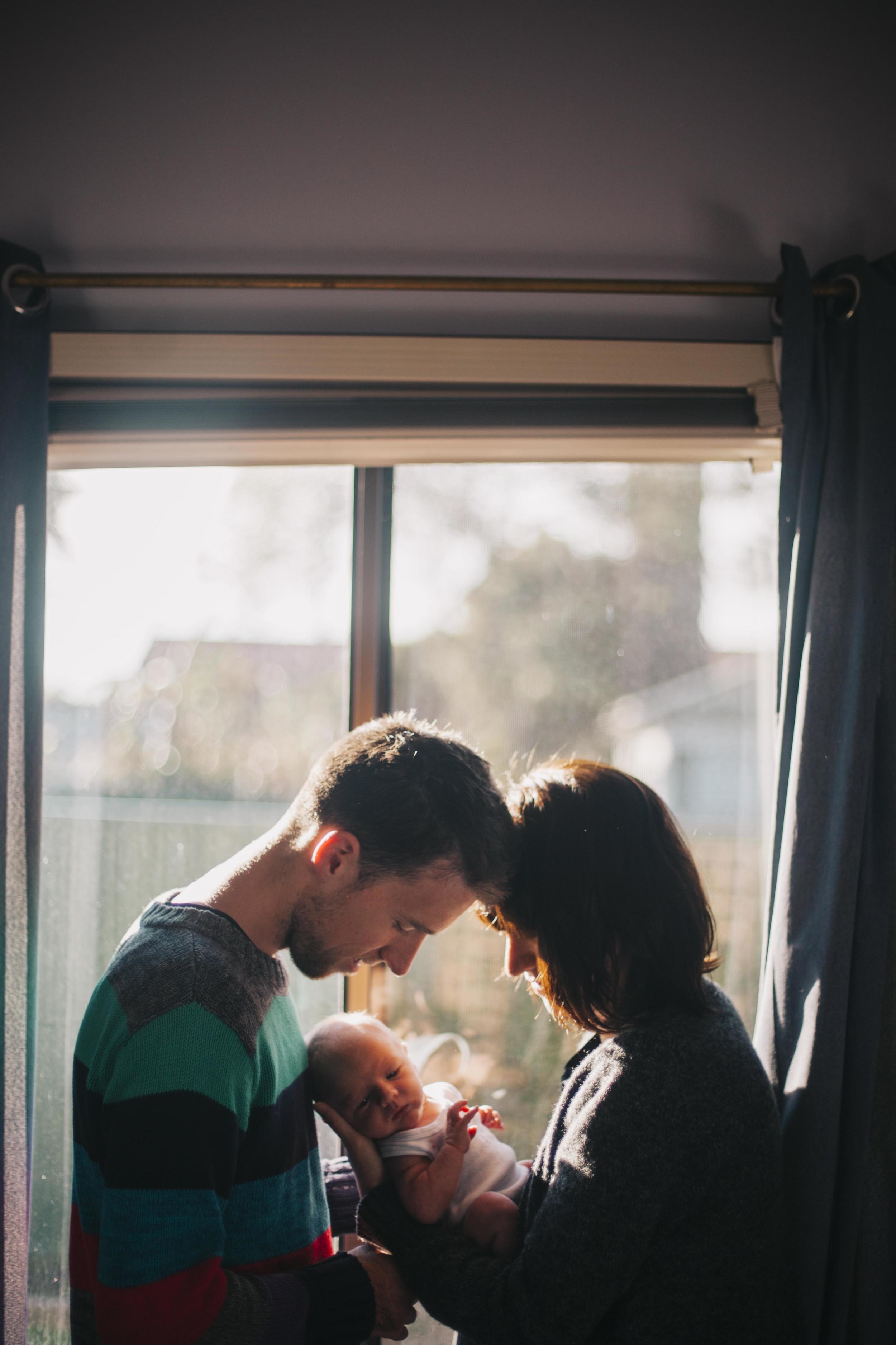 family newborn portrait