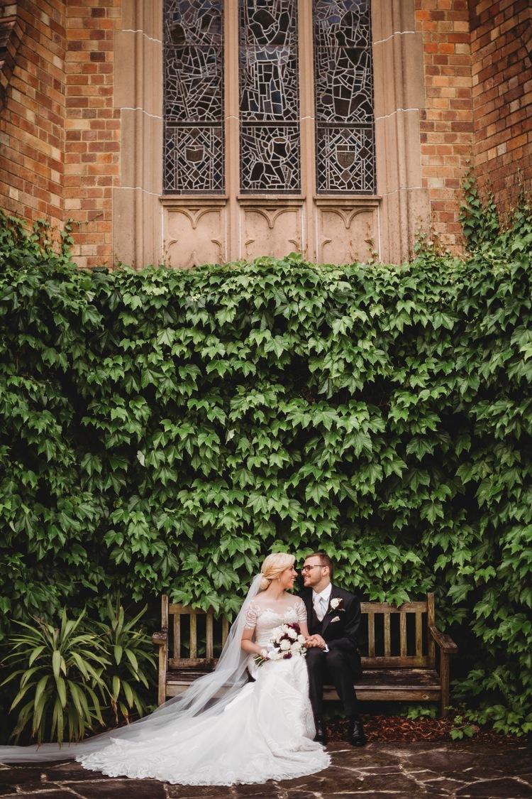 heather + david - Traditional fairytale wedding