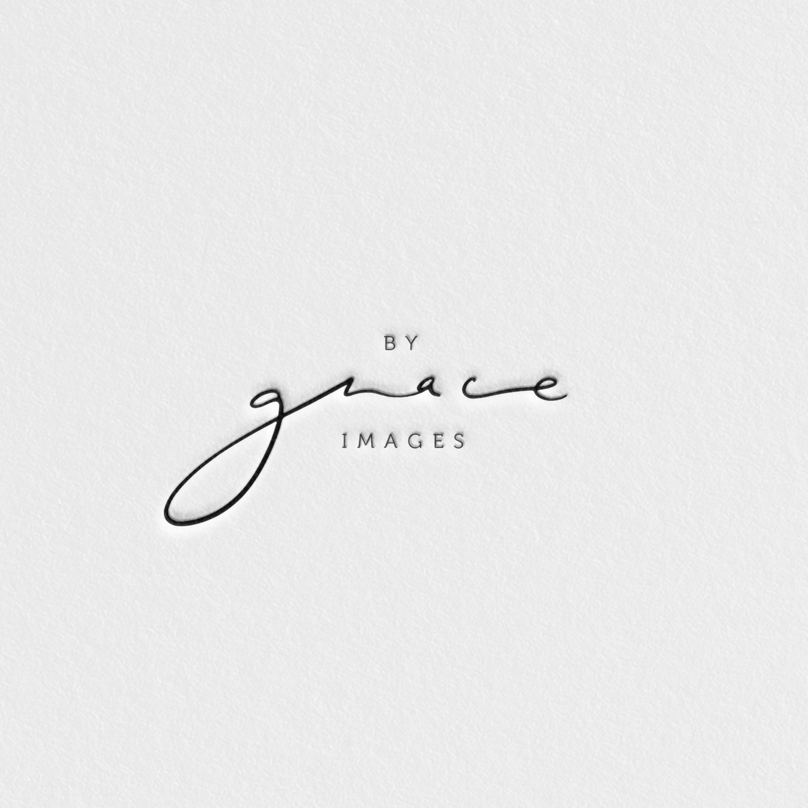 navy words by grace images printed on white paper