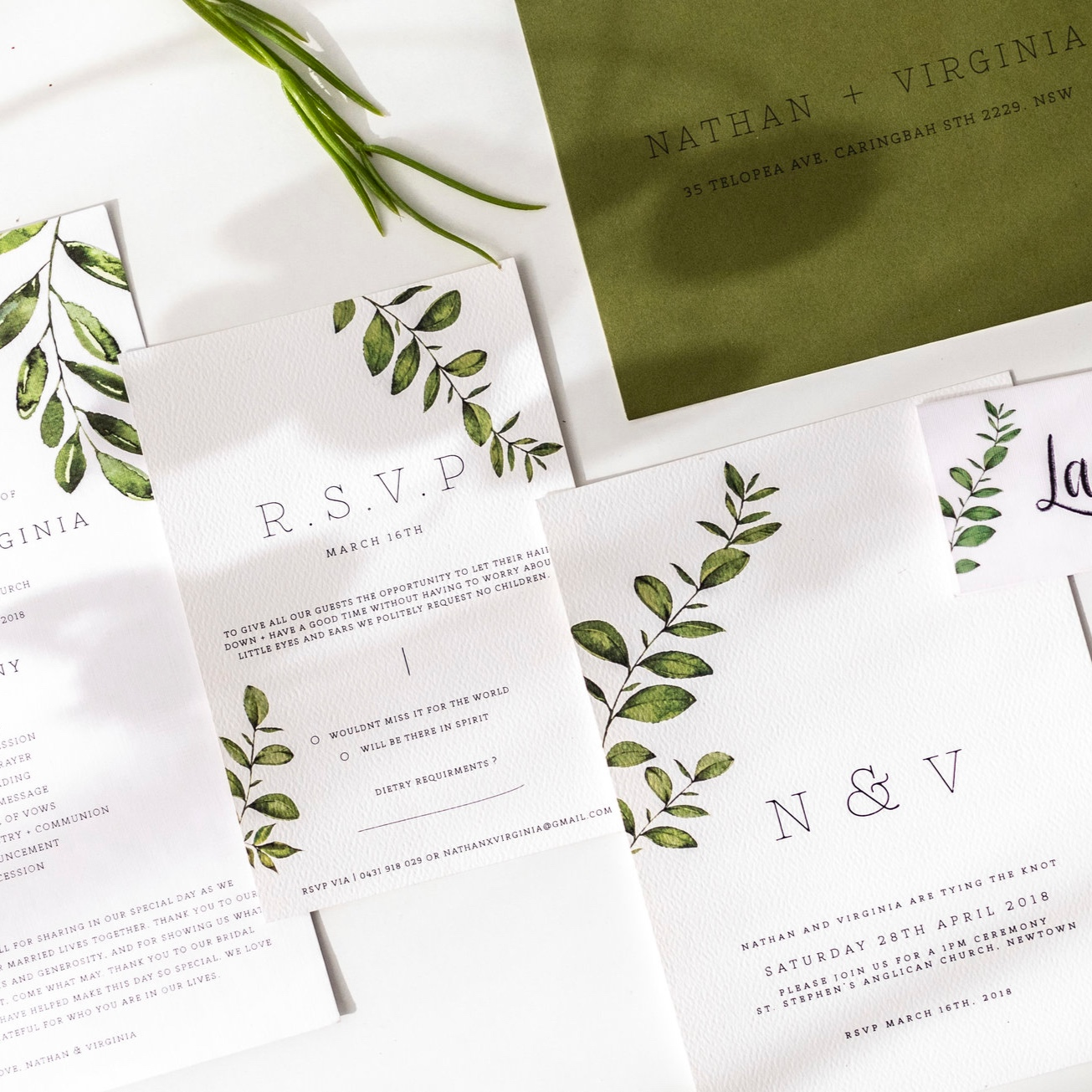 wedding stationery - Fall in love with all the details, big and small.
