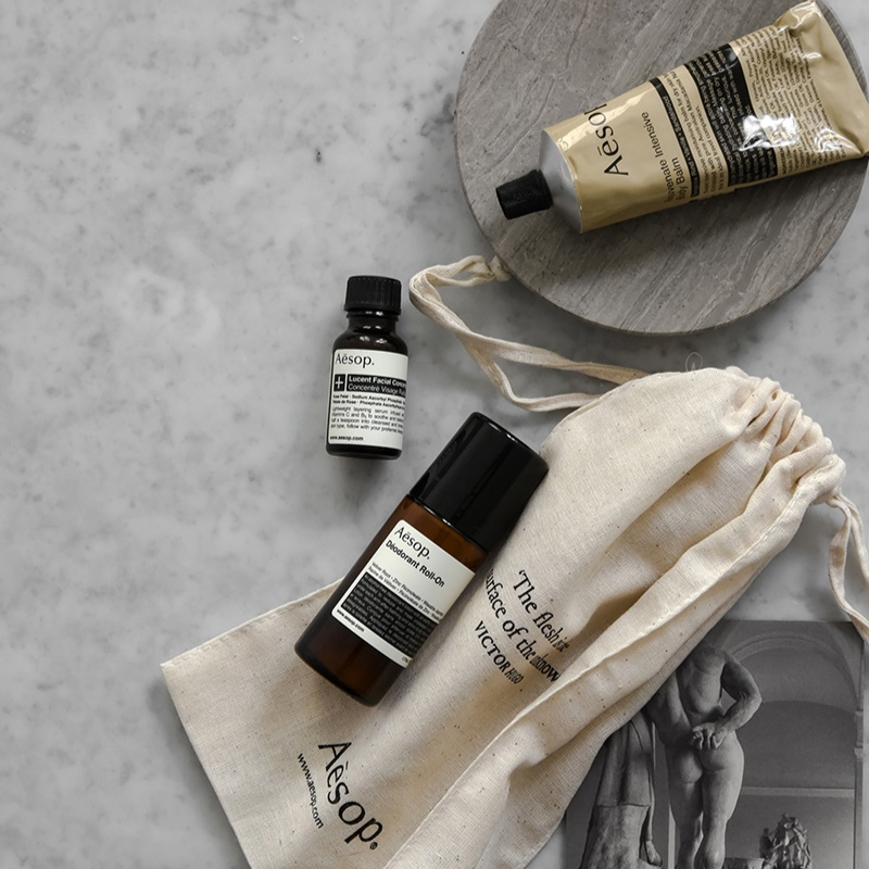 The Paper Fox Wedding Gift Guide. Aesop Products