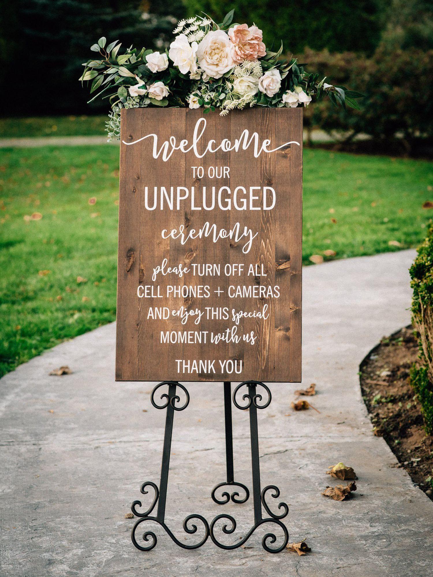 Sign by Wedding Decor Studio