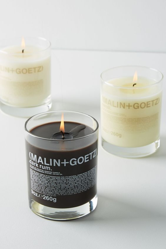 The Paper Fox Gift Guide: Malin & Goetz: Leather Candle