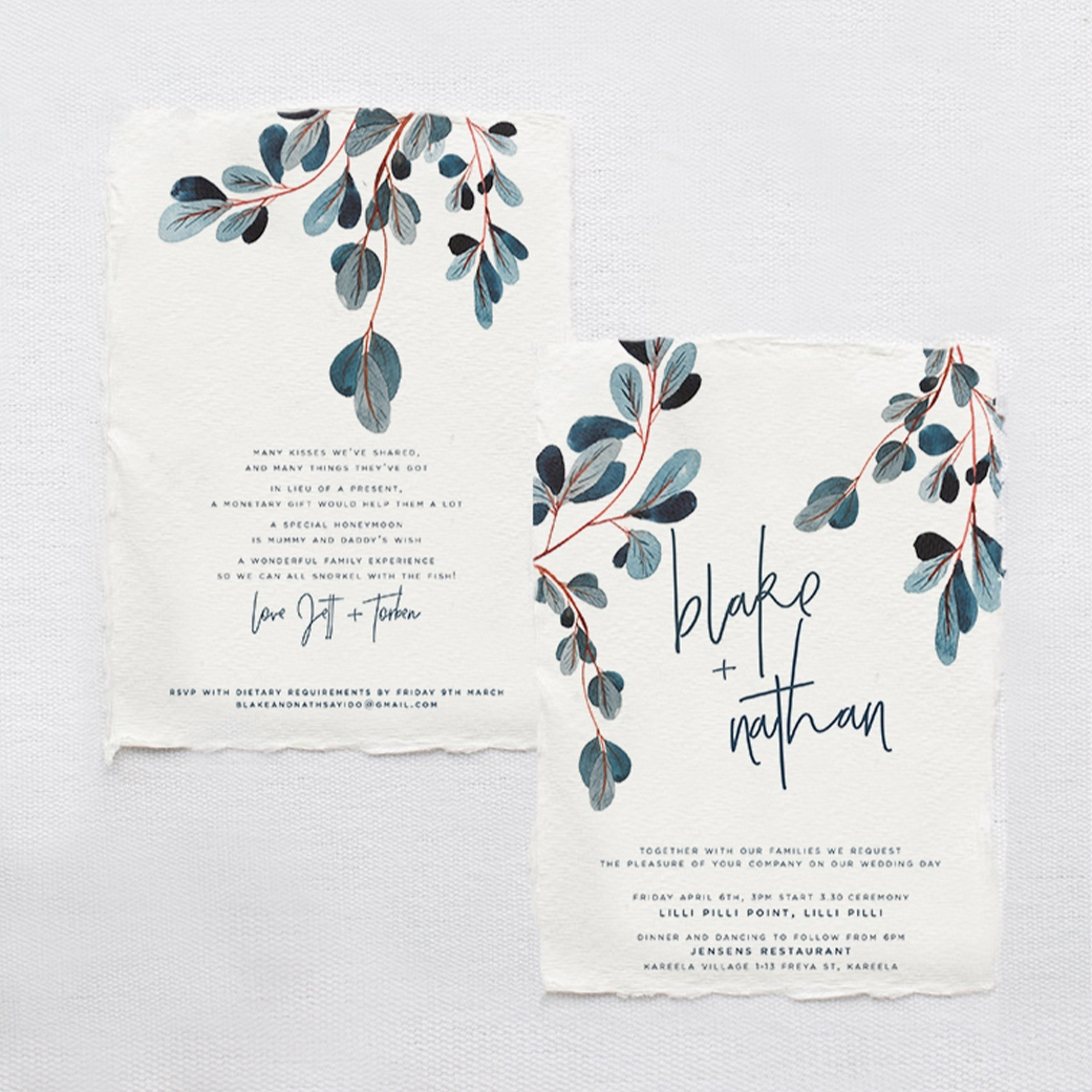 wedding stationery - We love the details and we know you will too