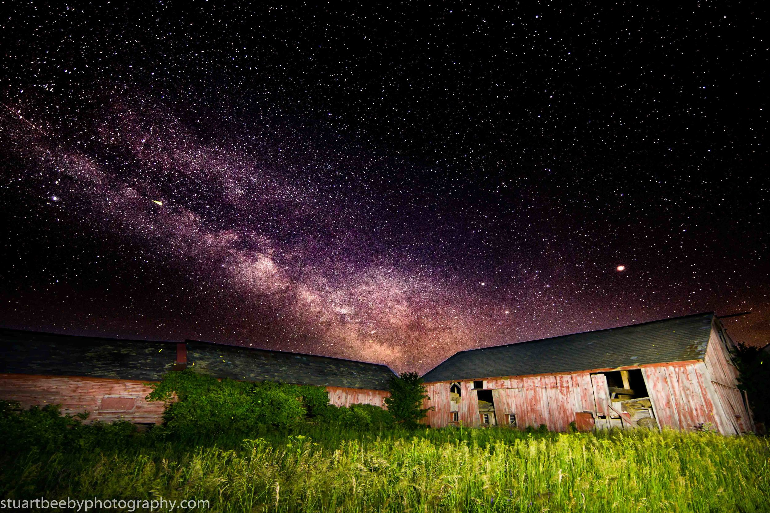 Stuart Beeby: Canon 6D, 14mm, ISO 2500, F2.8, 15 seconds