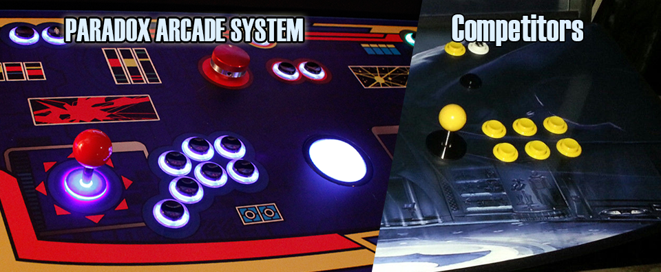 Competition button spacing vs. overly wide button spacing