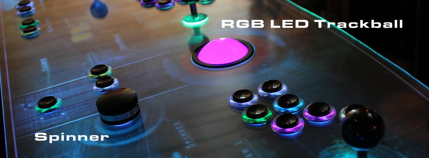 Trackball and Spinner — Paradox Arcade Systems
