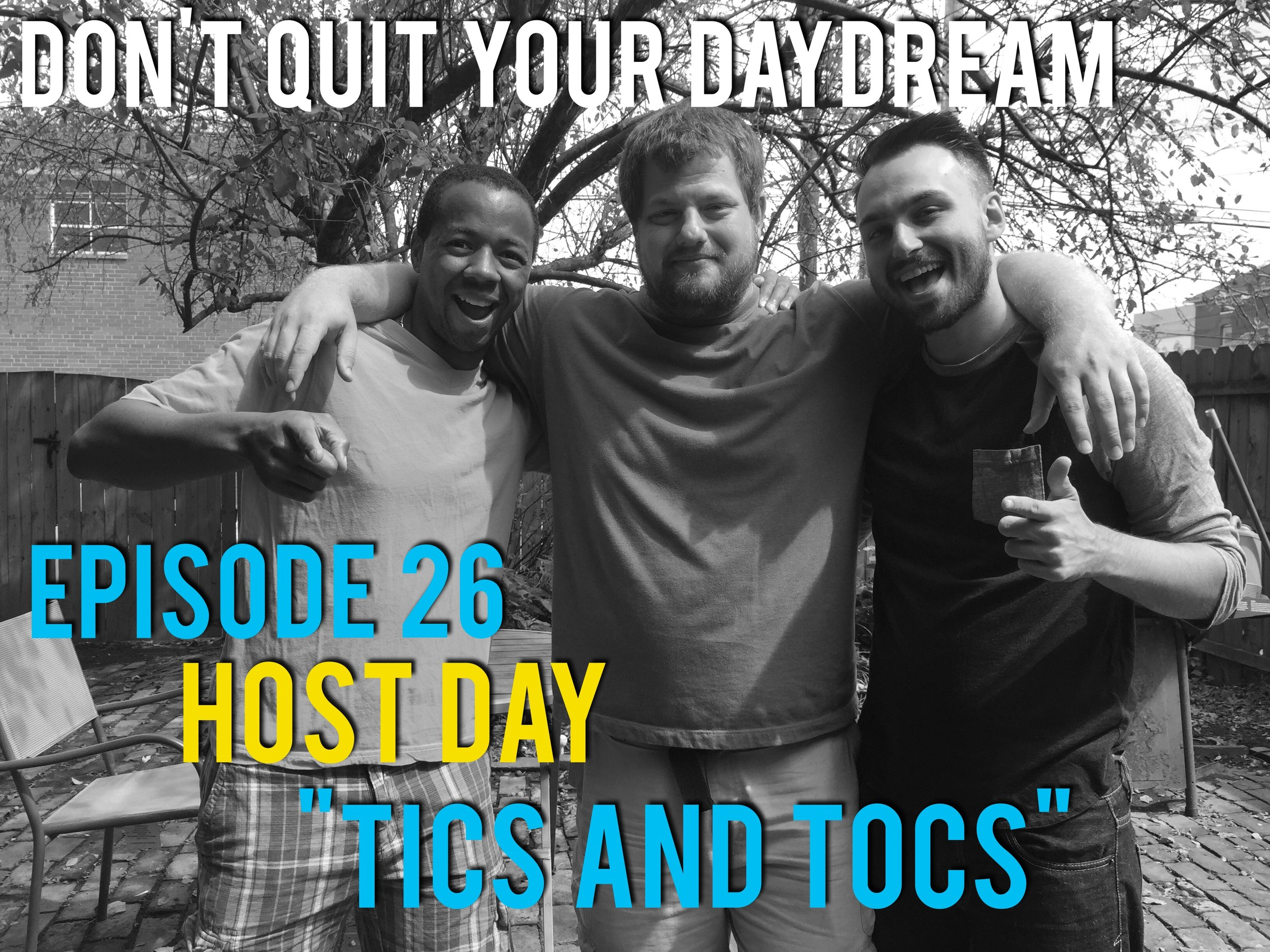 Don't Quit Your Daydream is a podcast for people with hobbies, skills, passions and DREAMS so thank you for being a part of ours. To celebrate the first six months of episodes we decided to pull back the curtain and discuss the shows inception. Get to know hosts Farrin, Drew and Nathan better while they ask each other Good Cop and Bad Cop Questions.  Featured music this week is from Farrin and Nathan's former band Bravo Bravo. Send us an email if you would like to download it for free! Thanks once again and make sure to reach out if you'd like to talk about something you love.  Dqydpodcast@gmail.com