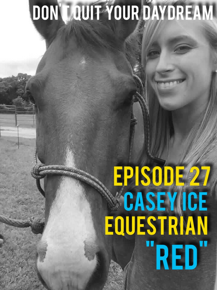 "From almost the age Casey Ice could walk she has been riding and training horses. While some people are quick to cower in fear at the mere thought of riding the large animals, Casey finds it to be her greatest passion. We discuss early falls and mishaps to shining bright at competitions. Born a daughter of a true cowboy, Casey brings to life a childhood unlike any other.  Song of the week is from fun punk band ""Be My Doppelganger"". Their tune ""Why"" is sure to get you out of your chair and dancing no matter where you are so be careful! Download this song and hear everything else they have to offer by visiting: https://bemydoppelganger1.bandcamp.com/"