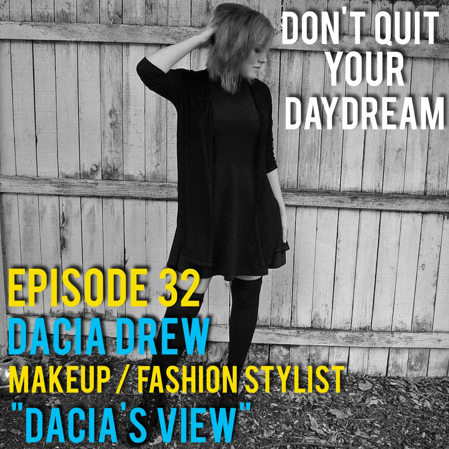 "Episode 32 we sit down with fashion and hair stylist, Dacia Drew. Dacia has just launched her own blog ""Dacia's View"" where she puts a focus on positivity and self-improvement. We discuss building a brand from the ground up and the importance of friends and family along the way. Follow her along in order to add a little bit of optimism into your day:  http://daciasview.com/   http://www.imgrum.net/user/daciasview/3676709518      Song of the week is ""Chandelier"" from the wonderful hip hop artist, Sleepyhead. Sleepyhead's debut album ""The God That Follows"" achieves at being both cerebral and catchy. Don't just take my word for it, download it for yourself:  https://sleepyheadss.bandcamp.com/"