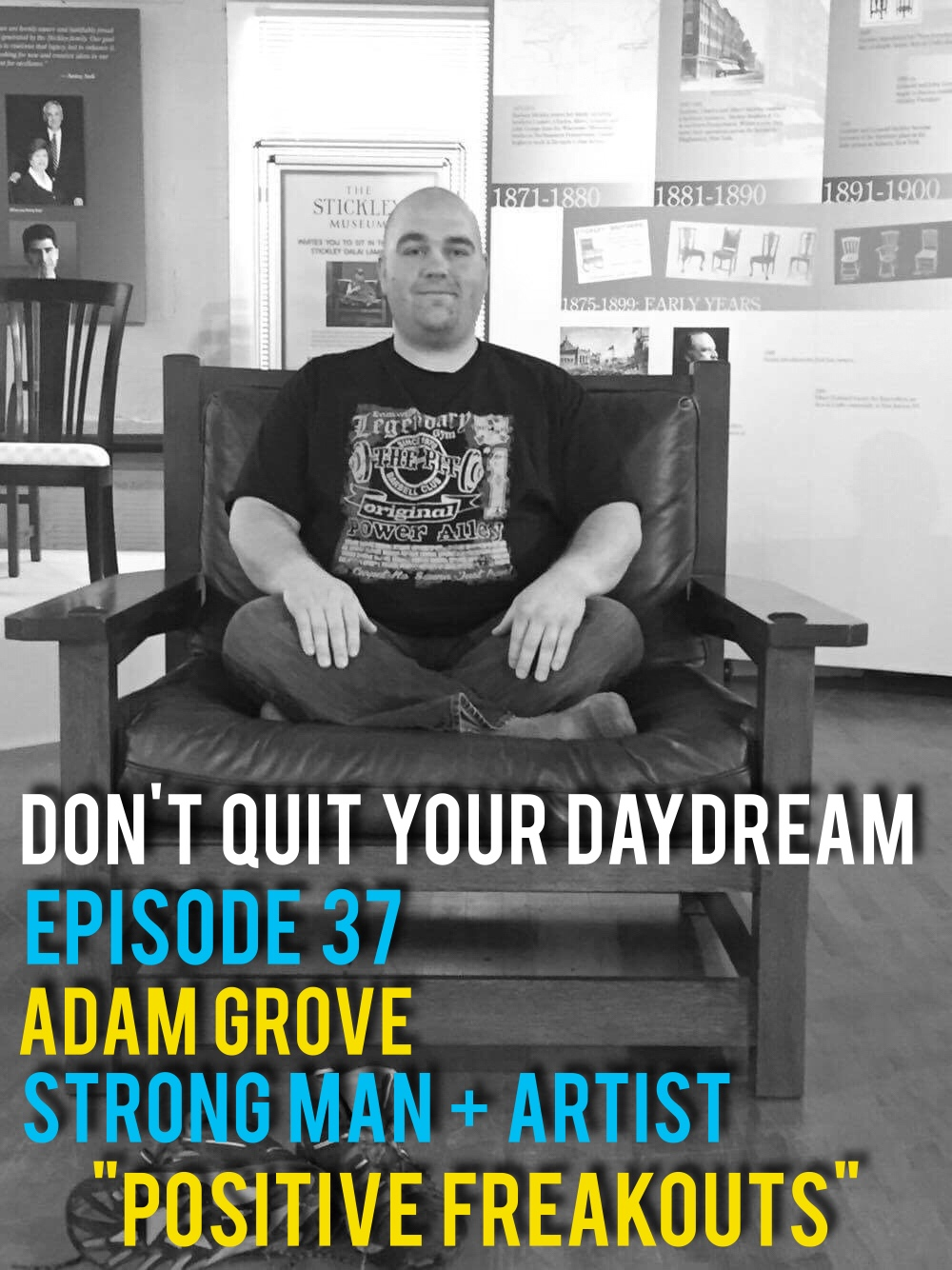 "Episode 37 we sit down with talented artist and acclaimed strong man, Adam Grove! If you were forced to classify Adam into one group it would be impossible. From a stint as a prison guard to spending time in a yoga studio, he has done it all. We discuss trying things outside your element and how having a freak out isn't necessarily a bad thing. Catch Adam's art by checking out his Instagram  https://www.instagram.com/adamgrove_evv/  or by visiting the Evansville Museum's 58th Mid States Art Exhibition which opens up on Dec.11th      Song of the Week is ""Same Things"" from our very own Farrin Davis!"