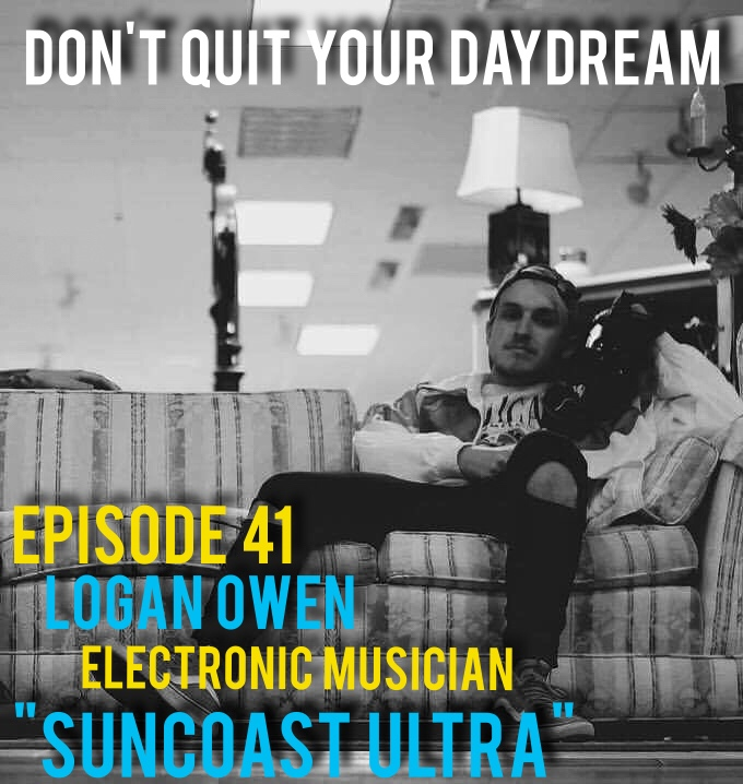 "Episode 41 we kick off the new year by sitting down with one half of Suncoast Ultra, Logan Owen. Suncoast Ultra has been one of our favorite bands since their inception so this was an absolute treat for us. Logan breaks down the genre of Vapor Wave and explains the pros and cons of being a modern day musician.  We also discuss the vulnerability of creating art and how it serves as an effective outlet for expressing yourself.     Song of the week is ""Stalagmite"" an awesome new track from the dudes from Suncoast Ultra. Follow them on their musical journey: https://soundcloud.com/suncoastultr"