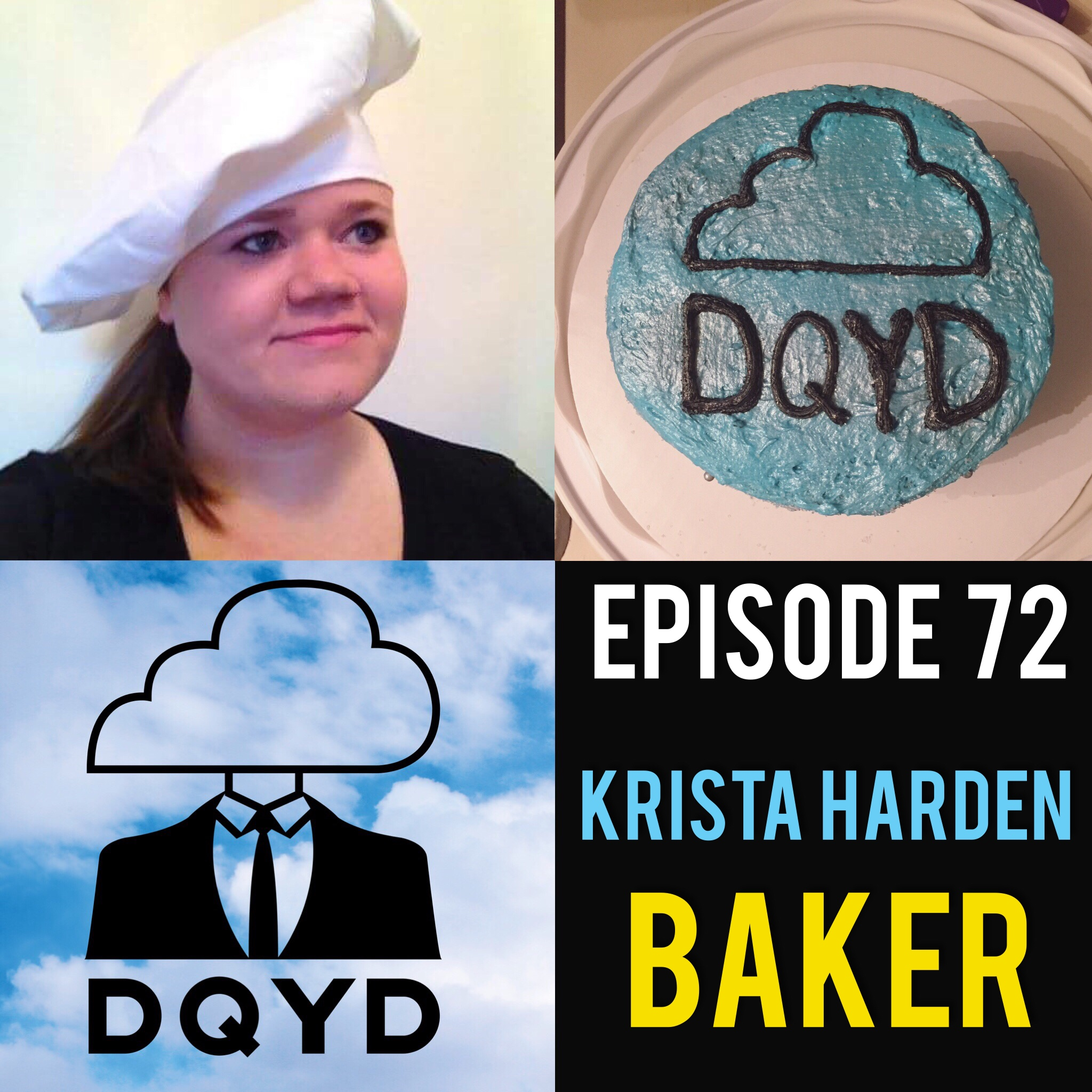 """Episode 72 with Baker: Krista Harden! Krista shares with us her trial and errors in the kitchen and how she learned to not only bake a delisious cake but to make it look fantastic too. We discuss bake goods found around the world, dreams of a desert food truck and tips for the kitchen.    Sound of the week: """"Right City"""" by Gentlemen and Scholars! Download their new album now! https://gentlemenandscholars1.bandcamp.com/"""
