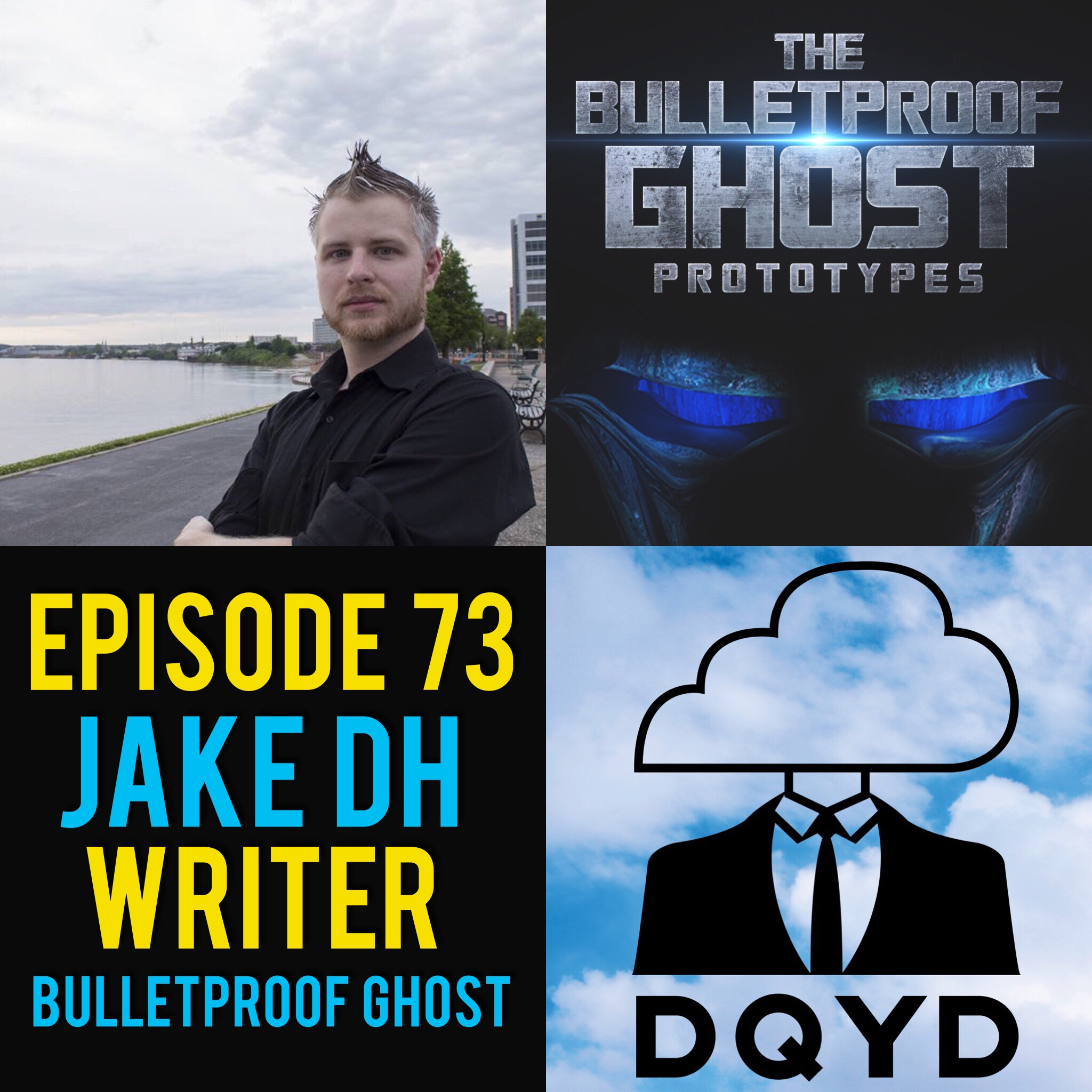 "Episode 73 with Author: Jake DH! Since he was in middle school Jake Harris has been crafting his soon to be released super hero novel ""The Bulletproof Ghost"". Jake shares with us the long hours and countless trials that have been poured into the series since it's conception. Check out Jake and his book series by going to:  https://www.amazon.com/BulletProof-Ghost-Prototypes-Jake-dh-ebook/dp/B00MK30EC4/ref=sr_1_2?ie=UTF8&qid=1502762206&sr=8-2&keywords=bulletproof+ghost   Song of the week is '' No More"" by the talented Osiella. Check out this along with their other great tunes by visiting http://www.osiella.com/"