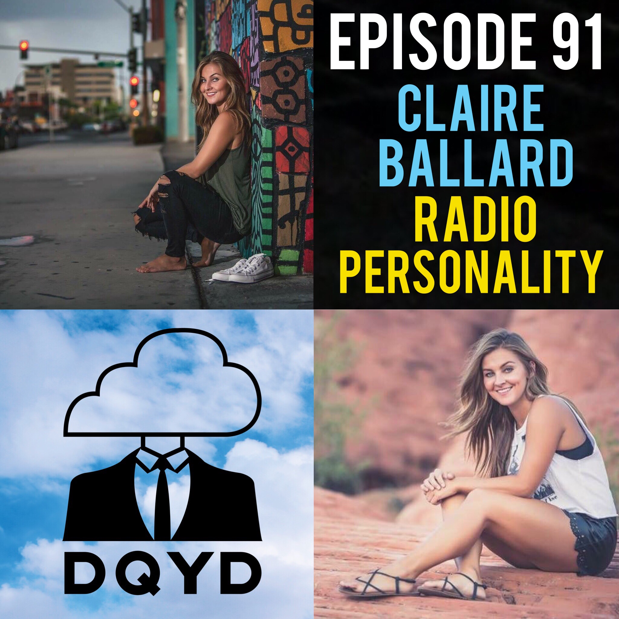 """Episode 91 with Radio Personality: Claire Ballard! Daily Claire can be heard brightening the spirits of the inhabitants of Evansville, Indiana on their morning drive to work. Armed with great stories and a positive attitude she is an absolute natural behind a microphone. She goes into detail on her winding path through the world of radio and the hard work she put in to get where she is today.  Song of the week is """"Holding Me Back"""" by previous guest Theo!"""