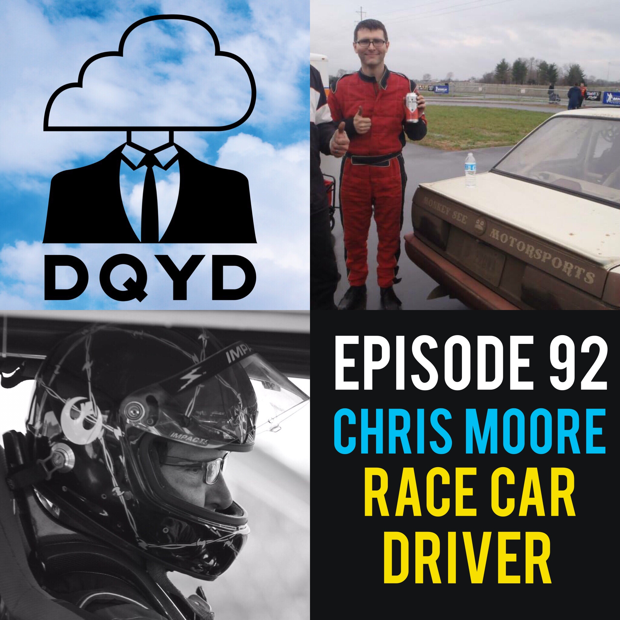 """Episode 92 with Race Car Driver: Chris Moore! From the garage to the track Chris Moore puts in tons of sweat, time and hard work into his love of racing. He breaks down the process of how to step behind the wheel and does a wonderful job explaining the euphoria that comes with it. Check out his team """"Lambkey Motorghini Racing""""  https://www.facebook.com/Lambkey-Motorghini-Racing-227817943951221/?timeline_context_item_type=intro_card_work&timeline_context_item_source=1635197308&pnref=lhc   Song of the week is """"No More"""" by the wonderful Osiella! https://osiella.bandcamp.com/"""