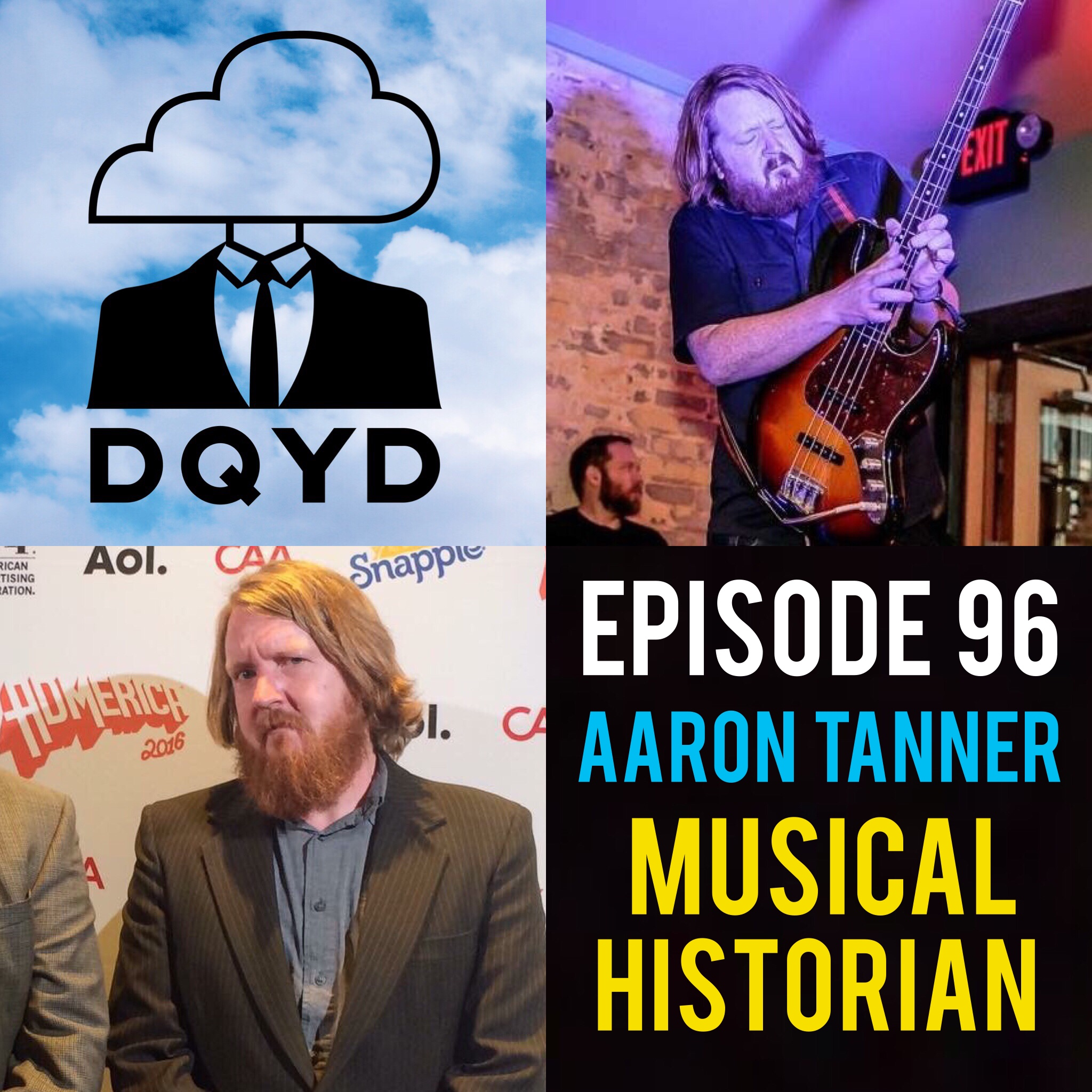 "Episode 96 with Graphic Designer and Musical Historian: Aaron Tanner! The wonderful mind behind Melodic Virtue, Aaron has spent over 15 years as a designer for amazing bands such as Ween, Explosions in the Sky and The Pixies. Now changing to an even more ambitious approach he details his company's decision to start creating musical history books. You can find his most recent release, a historical overview of the SoCal punk band Face to face by visiting:  https://www.melodicvirtue.com/   Song of the Week is ""Best Best Western"" by the amazing experimental group Off-Ox https://off-ox.bandcamp.com/"