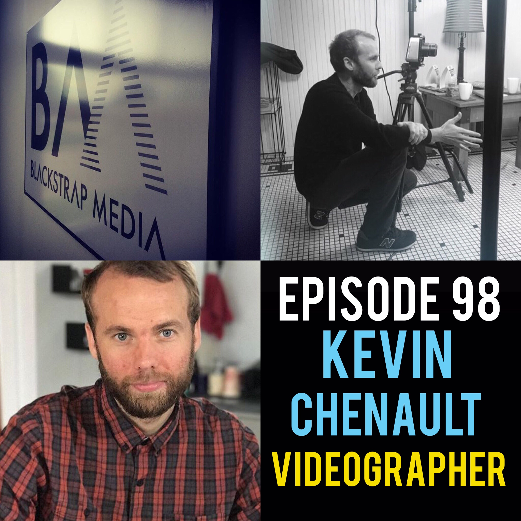 "Episode 98 with Videographer: Kevin Chenault! The founder of Blackstrap Media breaks down his unorthodox and motivated path to carving out a space in the world of digital media. Providing some of the best video content in the Midwest, Kevin provides countless do's and don'ts he learned along the way. https://blackstrapmedia.com/  Song of the week: ""The Mouth of the Water"" by Together In Dust! https://togetherindust.bandcamp.com/"