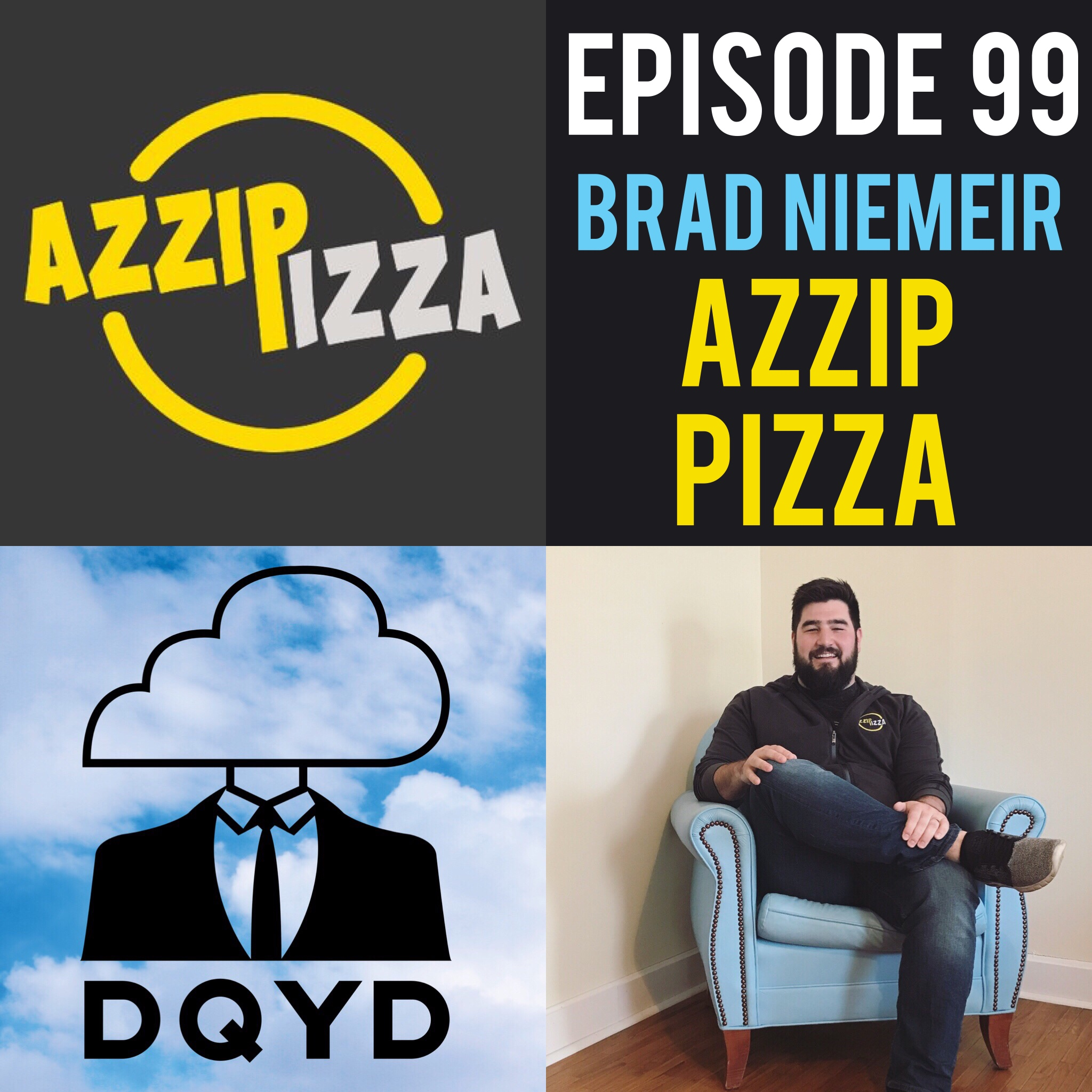 """Episode 99 with Pizza Entrepreneur: Brad Niemeier! We chat with Brad, the owner of Azzip Pizza, about cultivating a business idea through college and unleashing it on the taste buds of Indiana. We discuss perfecting recipes, looking at locations and what one needs to do to start a business. Go grab you some Azzip, you'll thank us later!  Song of the week is """"Walter's Dream"""" by the fantastic Cool Mutants! Check em out: https://coolmutants.bandcamp.com/"""