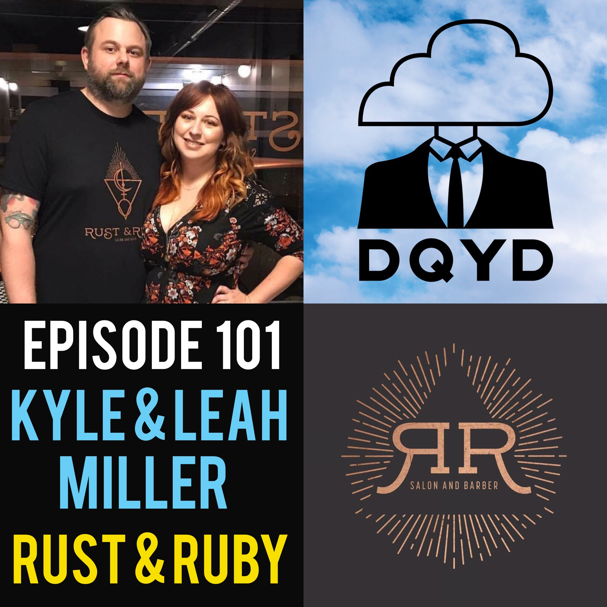 "Episode 101 with Entrepreneurs: Leah and Kyle Miller! From the unique, awesome interior to the wonderful staff, Rust & Ruby is a salon and barbershop unlike any other. The Millers have worked hard to bring the community a place that stands out for its hip style but still captures the warmth of going to an old-fashioned establishment. We cannot recommend them enough!    We have a fantastic song of the week in ""Honey Come on Home"" by the folk band ""The Zach Pietrini band"". https://www.discogs.com/The-Zach-Pietrini-Band-Holding-Onto-Ghosts/release/10405264"