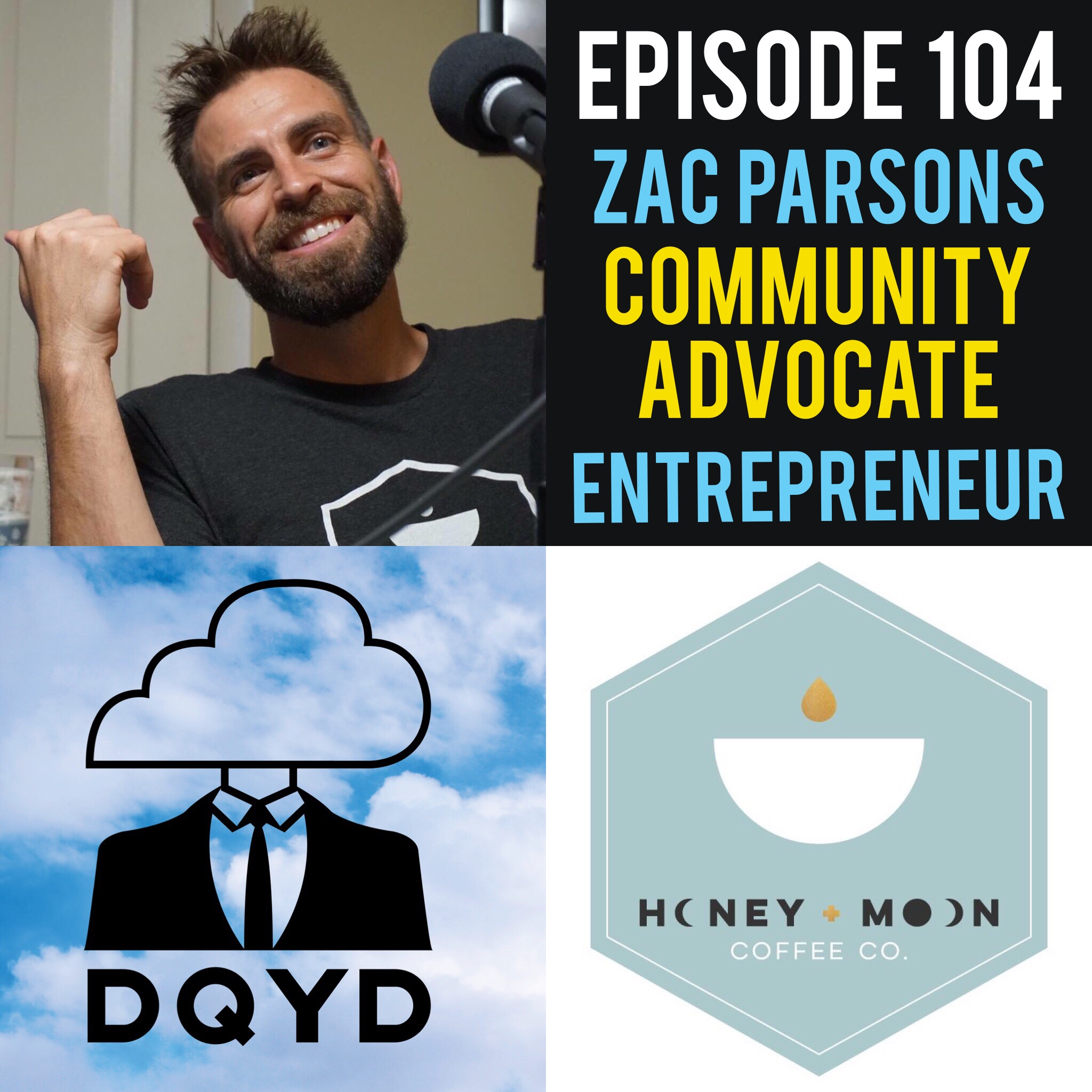 """Episode 104 with Community Advocate and Entrepreneur: Zac Parsons! If something positive is happening in the city of Evansville, Indiana chances are Zac Parsons may have something to do with it. Owner of the wonderful coffee shop Honeymoon Coffee Co, university professor and contributor to TedxEvansville, Zac keeps his plate fuller than most!  Song of the week is """"Strangers"""" by the melodic Vesper Days! Find more of her stuff by visiting: https://soundcloud.com/vesperdays"""