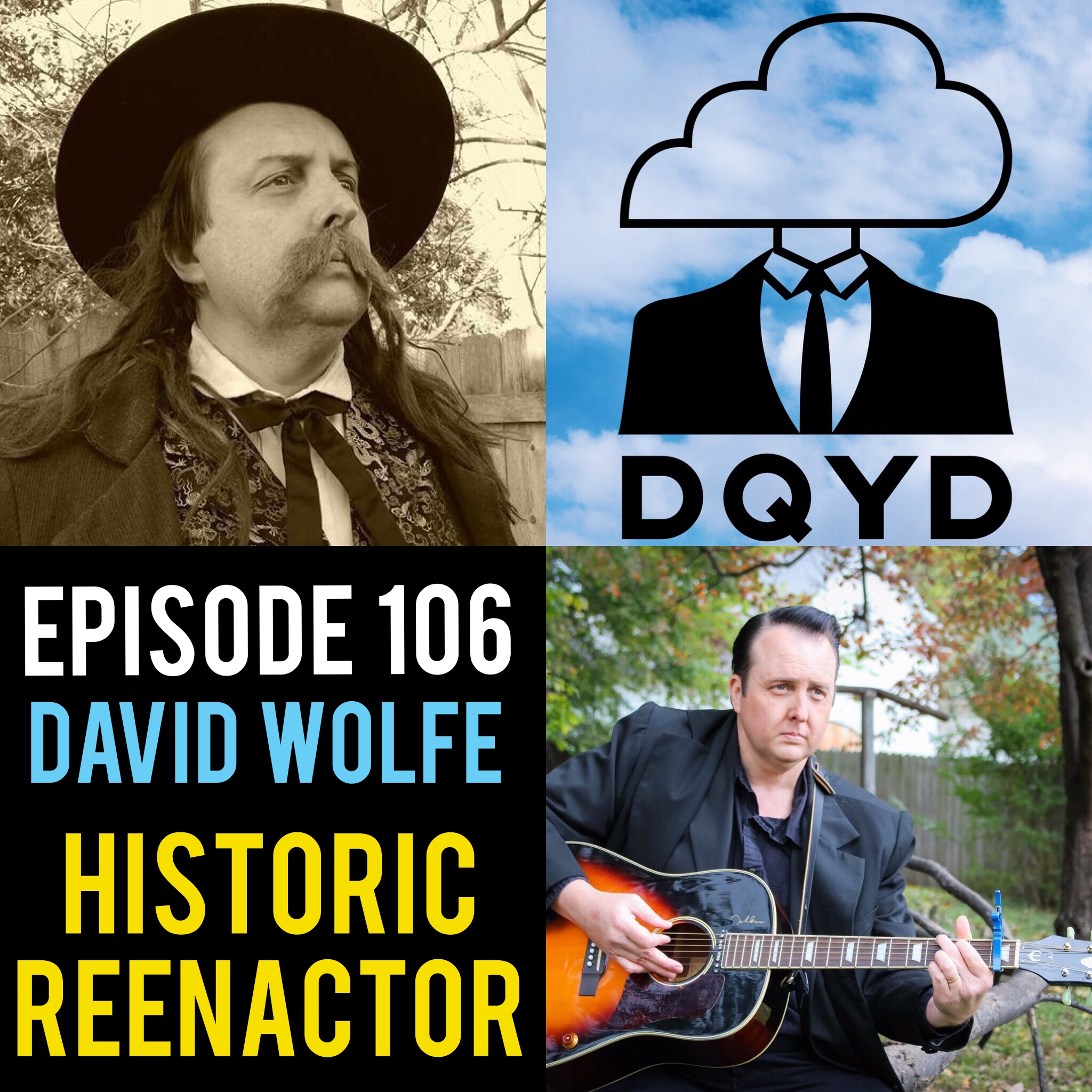 "Episode 106 with Historic Reenactor: David Wolfe! From Abraham Lincoln to Johnny Cash, David takes us through the process of mirroring another person. When not in character he is still using his personality to the fullest as a guide for the Owensboro Ghost Tours. We discuss some of the supernatural events that opened him up to possibility there is more out there than one may think.  Song of the week is ""Indigo Vertigo"" by The Jangle Sheep. Check em out!  https://thejanglesheep.bandcamp.com/"