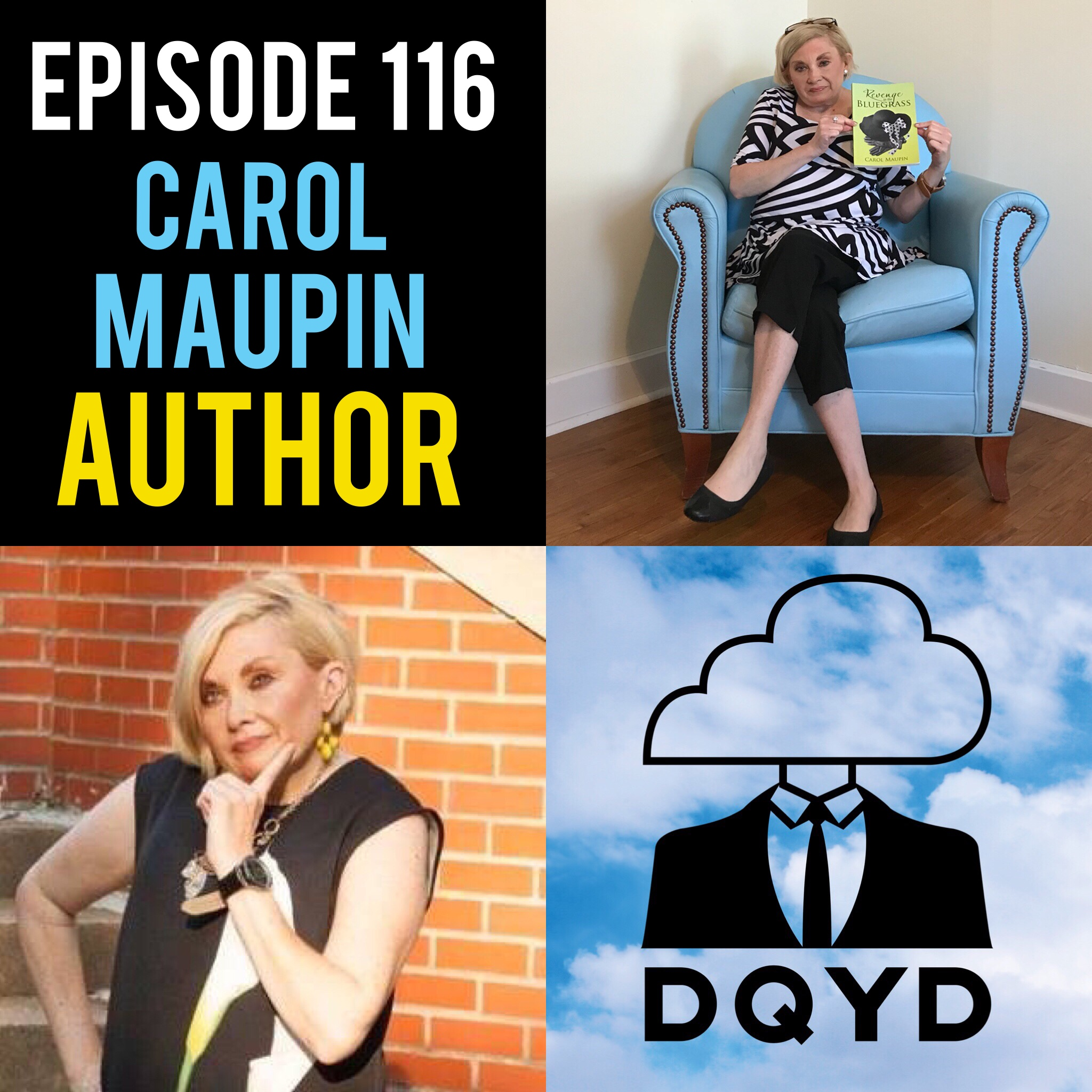 "Episode 116 with Author: Carol Maupin! Working on her murder mystery novel ""Revenge in the Bluegrass"" for over 20 years, Carol breaks down the many steps it takes to write and release a book. Full of twist and turns we chat about what drives a good story and how each character is driven by the inspiration from others. Buy her book for yourself:  https://www.amazon.com/dp/1546208801/ref=olp_product_details?_encoding=UTF8&me=#customerReviews   Song of the Week is ""Halleluiah"" by Andy Jones! https://musicbyandyjones.bandcamp.com/track/sunflowers"