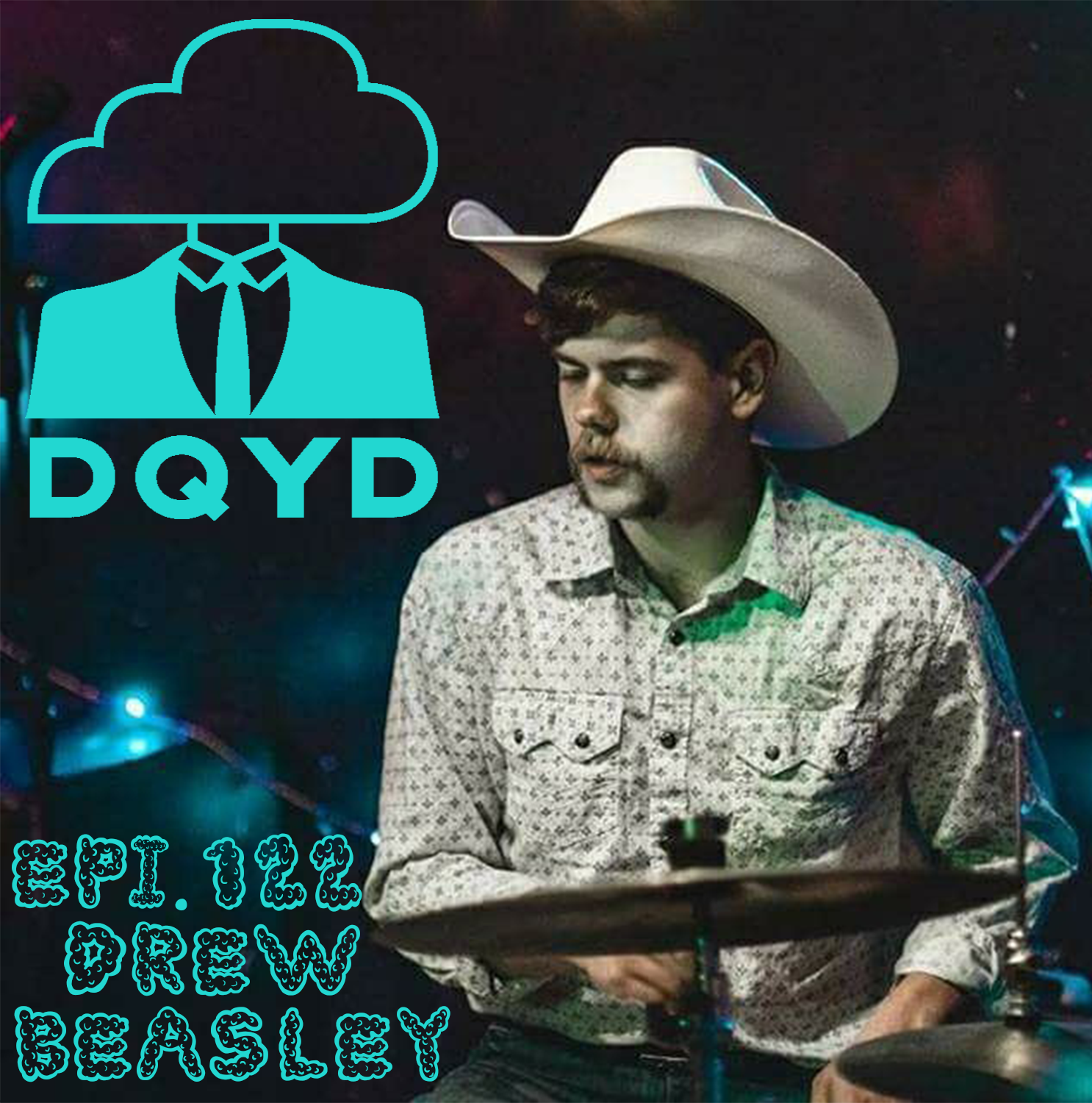 Episode 122 with Musician: Drew Beasley! The percussive backbone to bands ranging in genre from Rockabilly to Hip Hop, Drew shares with us how his life changed forever after joining the drum line.