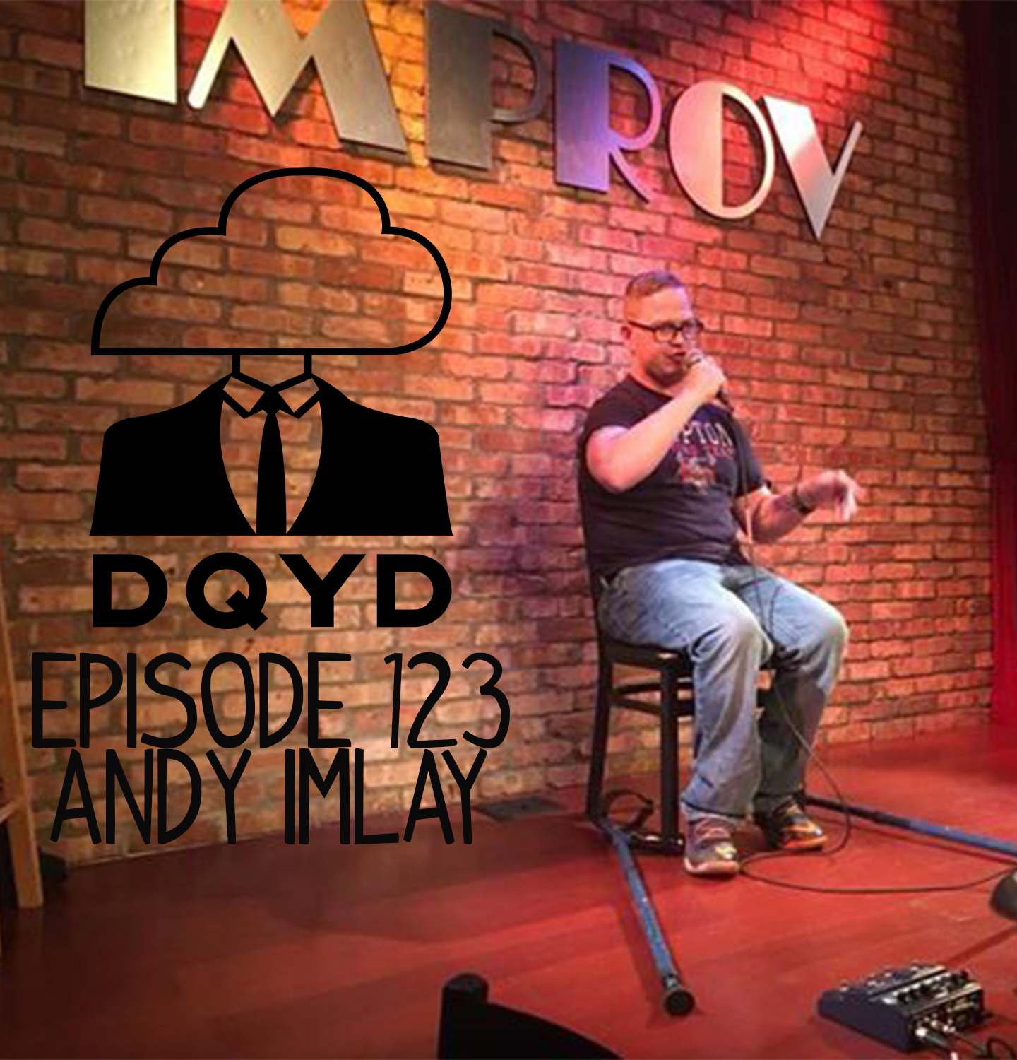 Episode 123 with Comedian: Andy Imlay! The hilarious Andy Imlay takes us down one of the coolest, scariest paths ever, the route to becoming a stand up comedian. We discuss how to the art of writing jokes, how to get over nerves and best practices in navigating politics.