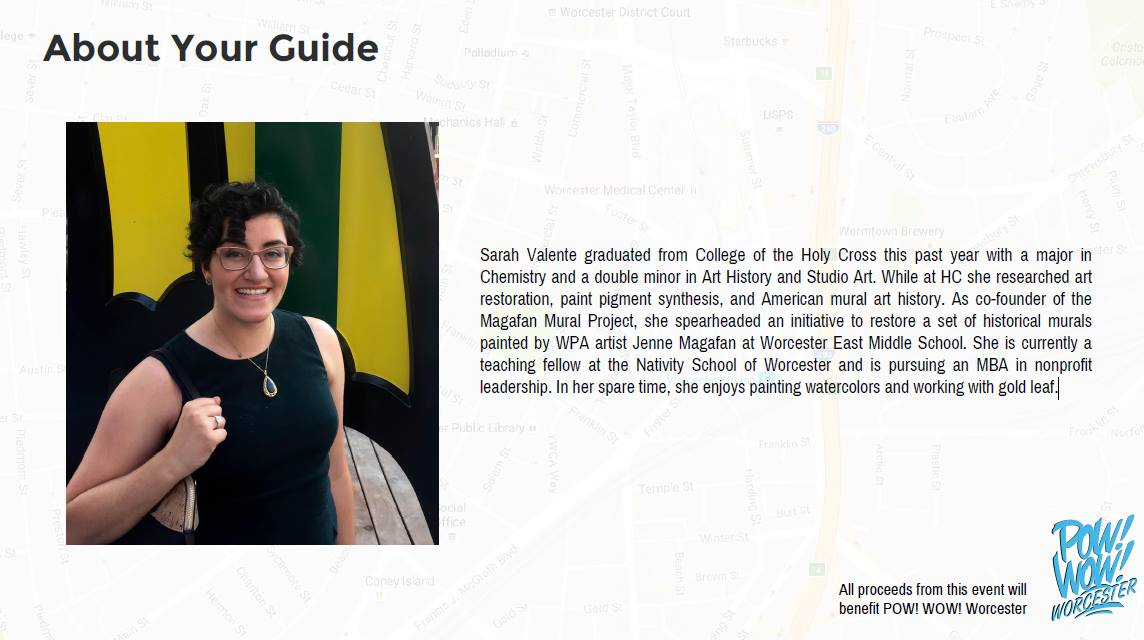 Meet your AWESOME tour guide - Sarah!