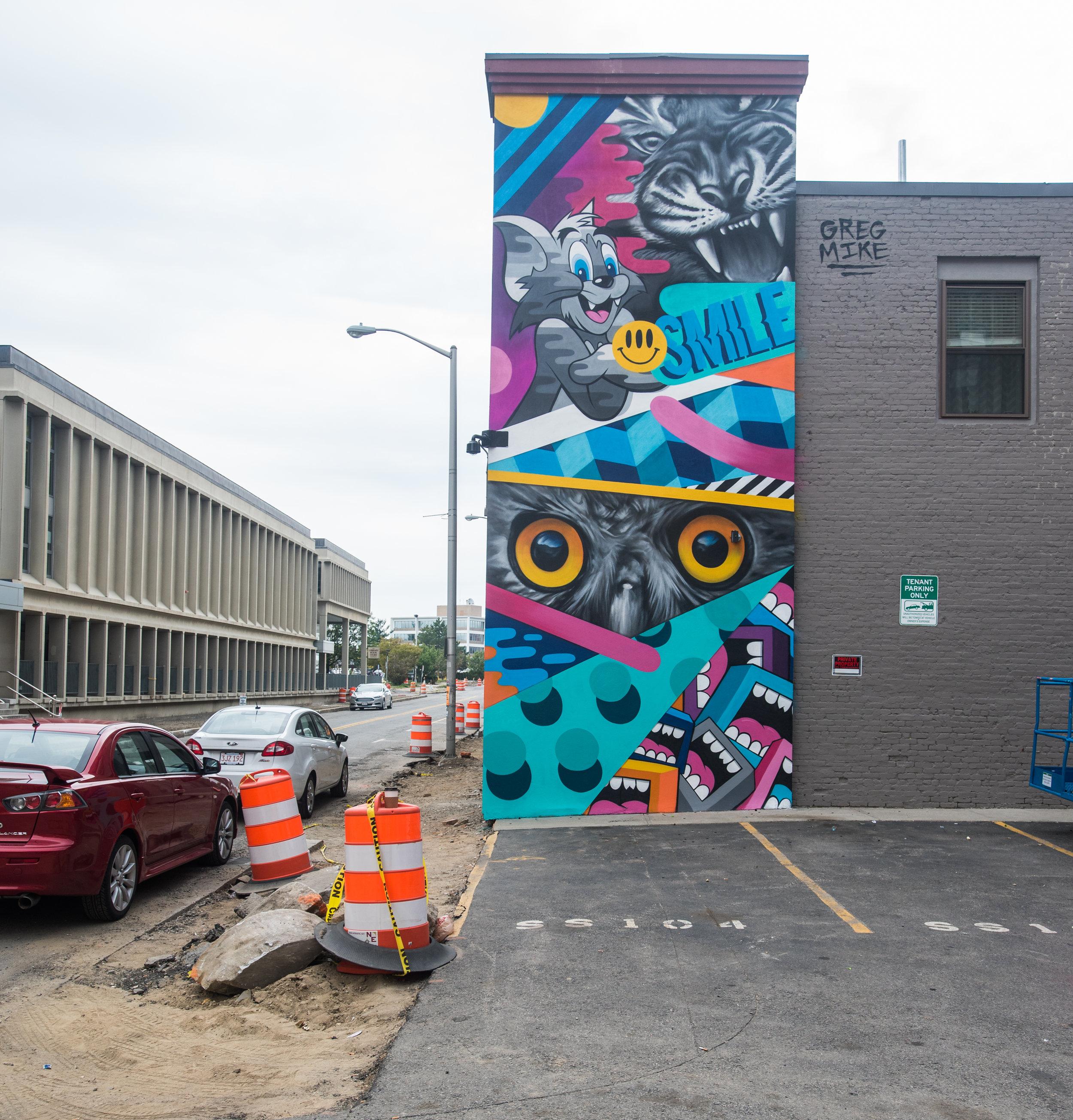Smile Mural // Greg Mike
