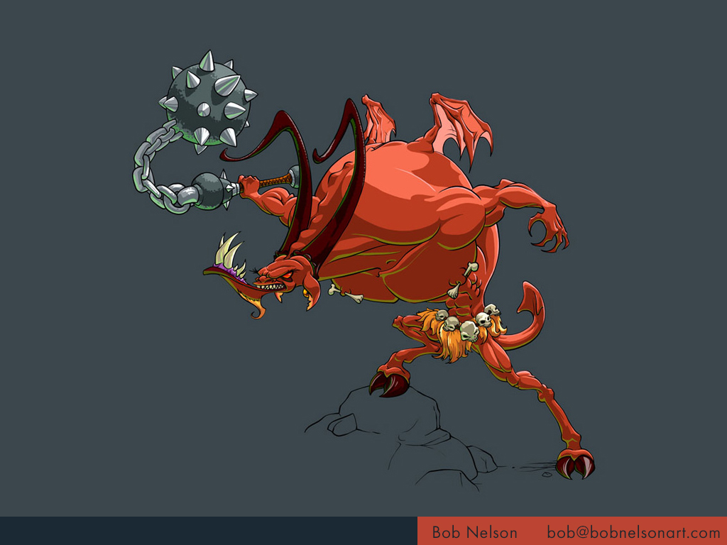 Enemy concept for action rpg