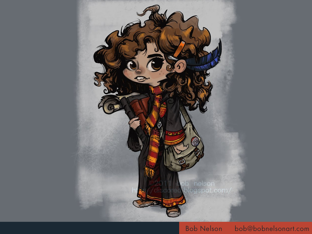 My take on Harry Potter's Hermione