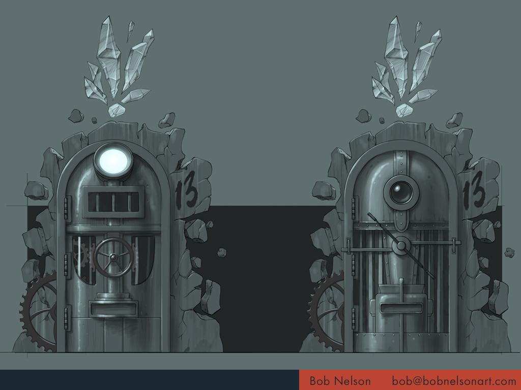 Dream machine doors