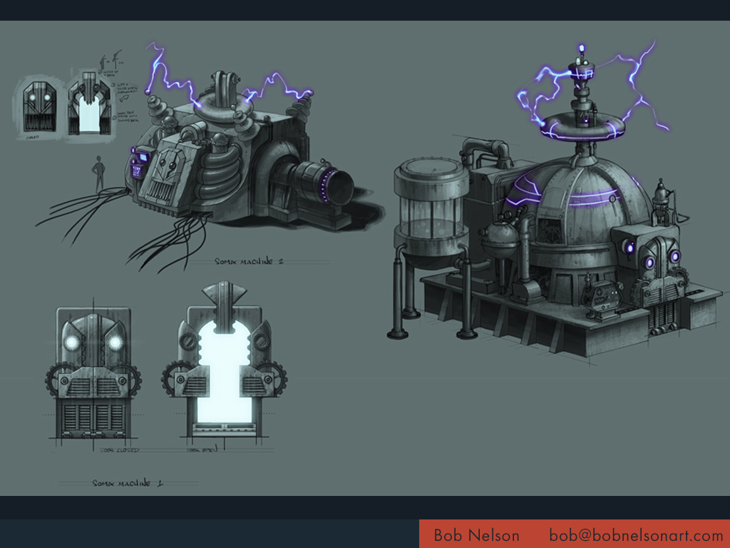 Dream machine sketches