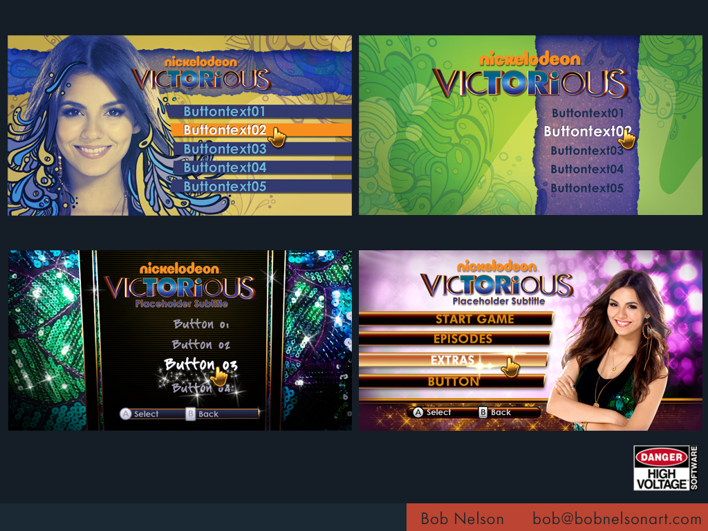 VICTORIOUS: TAKING THE LEAD (XBOX 360 KINECT)
