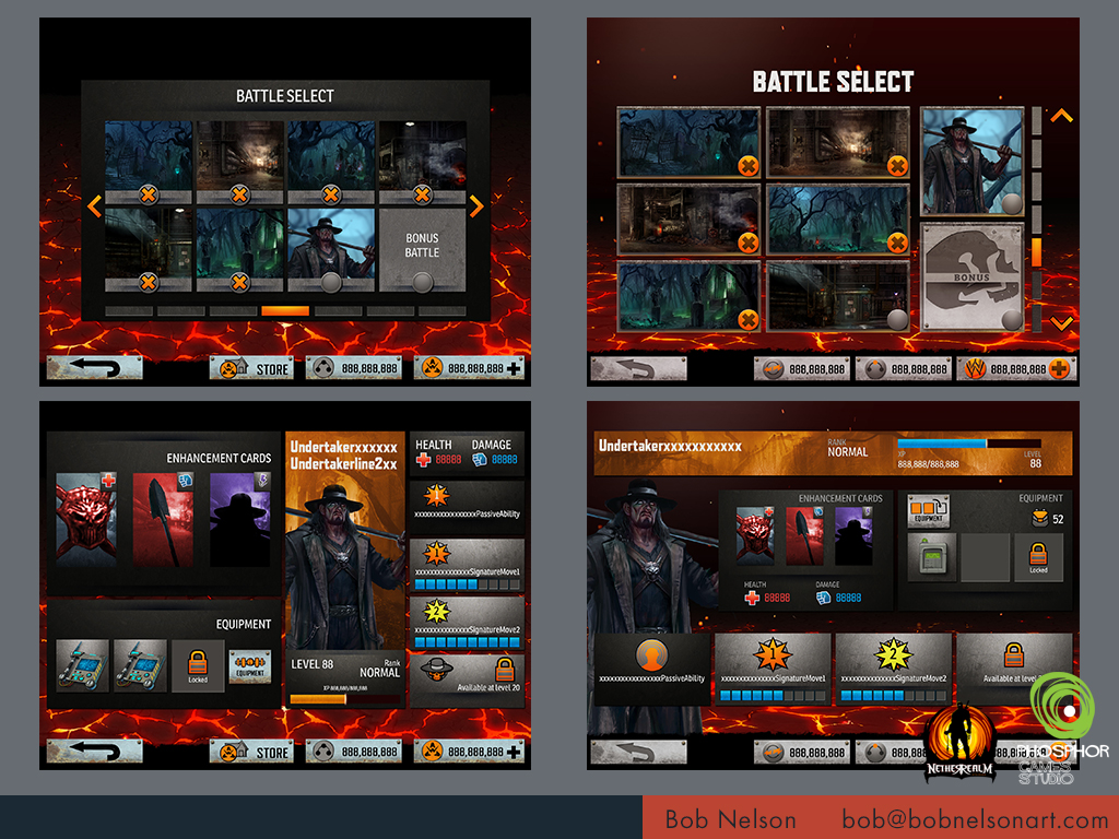 WWE IMMORTALS (MOBILE)