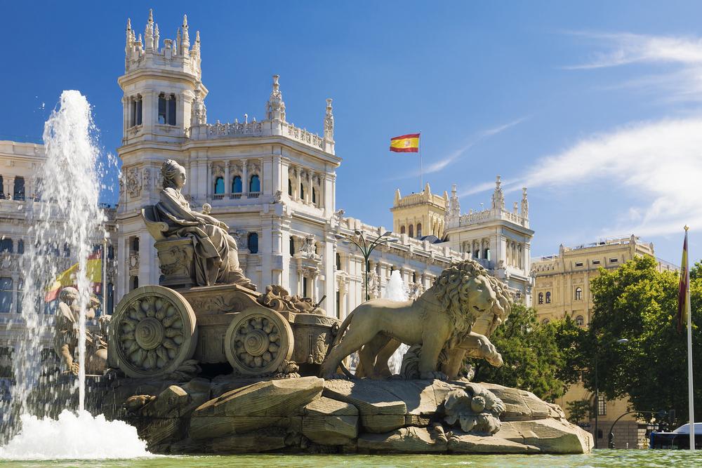 Cibeles Fountain, Madrid