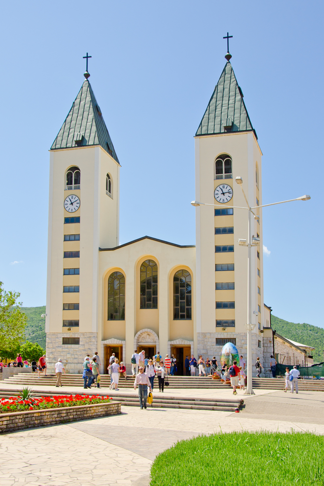 The St. James Chapel at Medjugorje awaits your pilgrims