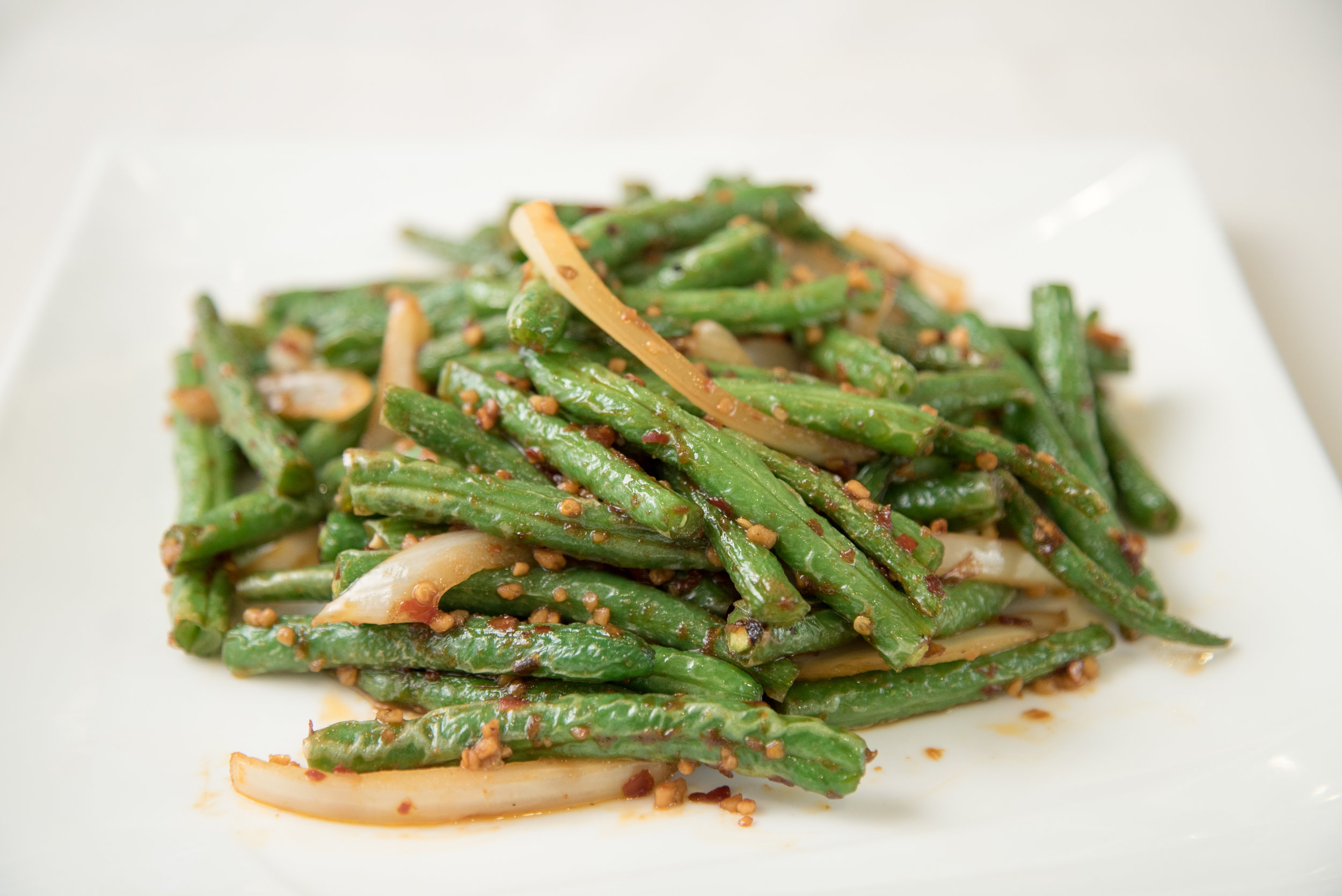 Hot Spicy Green Beans