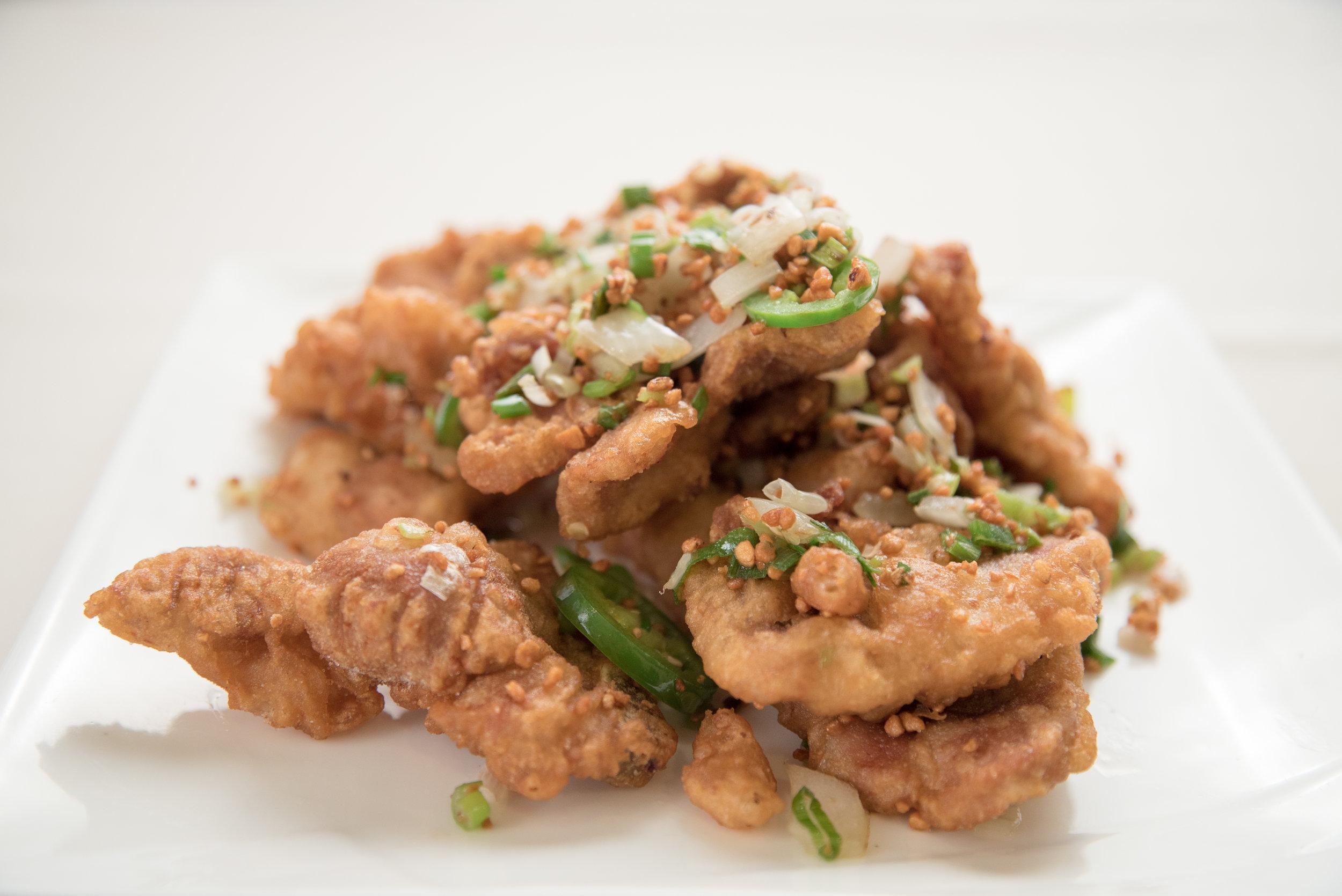 Pepper Salt Pork Chop