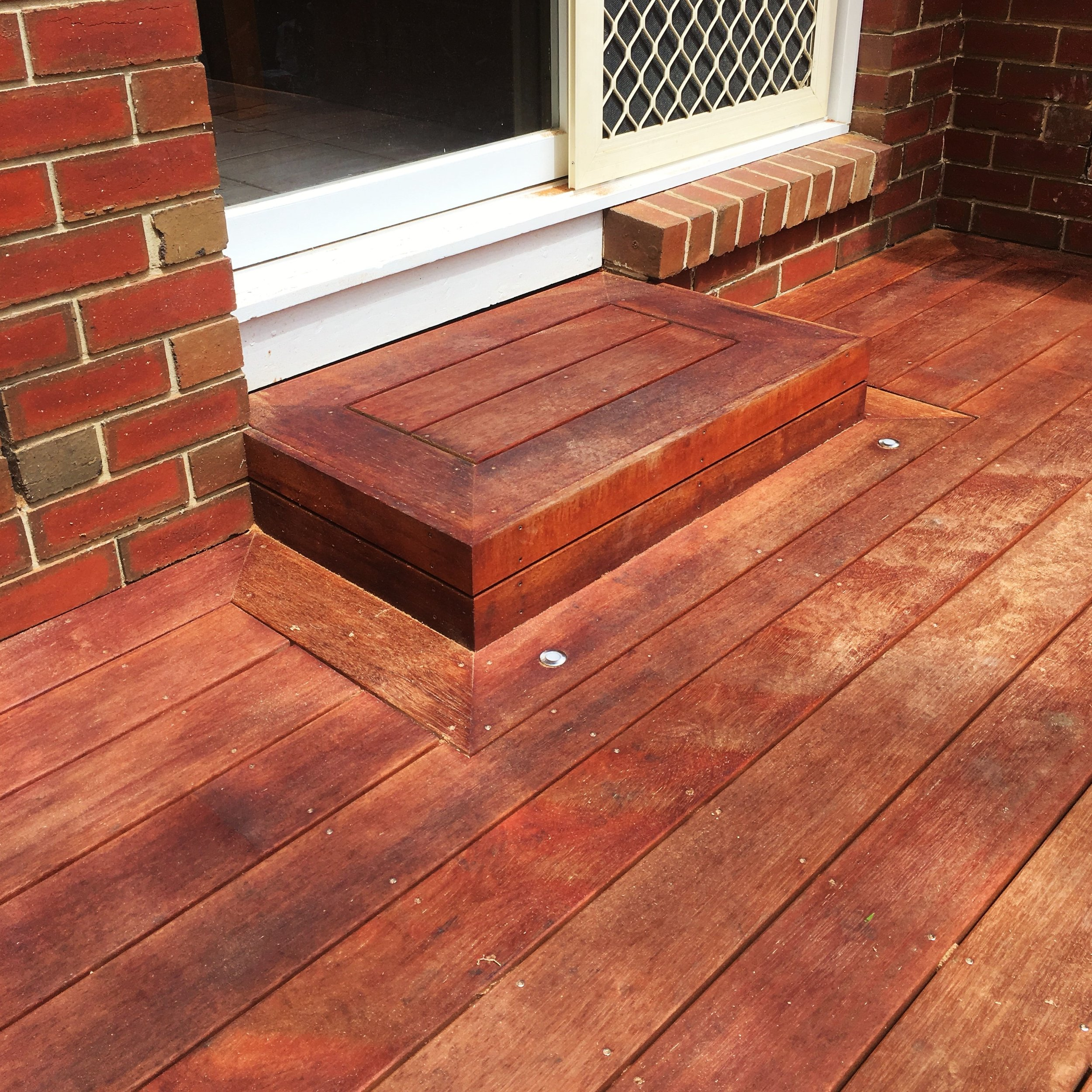Precision cut decking boards